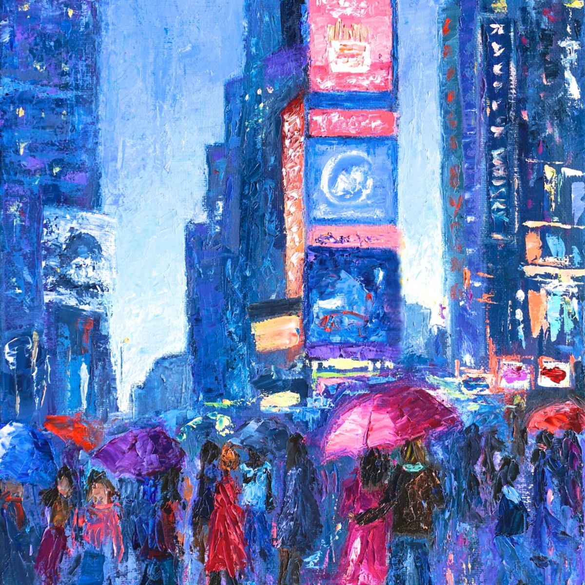 Lovers walk in times square rain ii 288 copy ybyshe