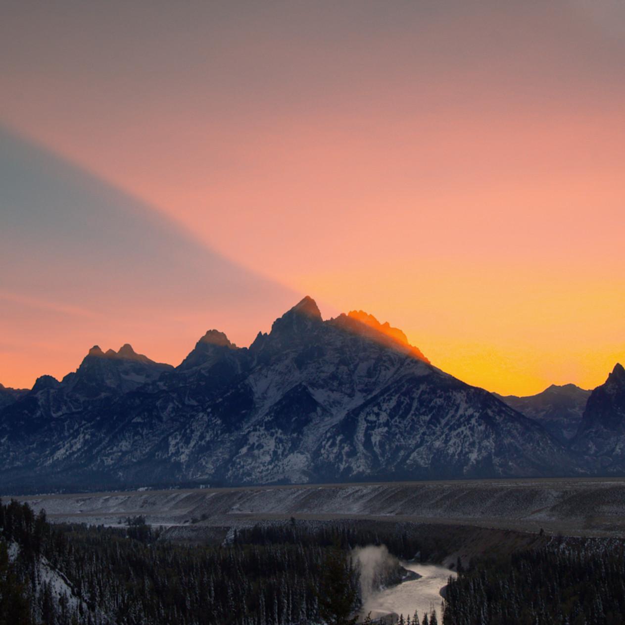 Teton sunset hqnoym