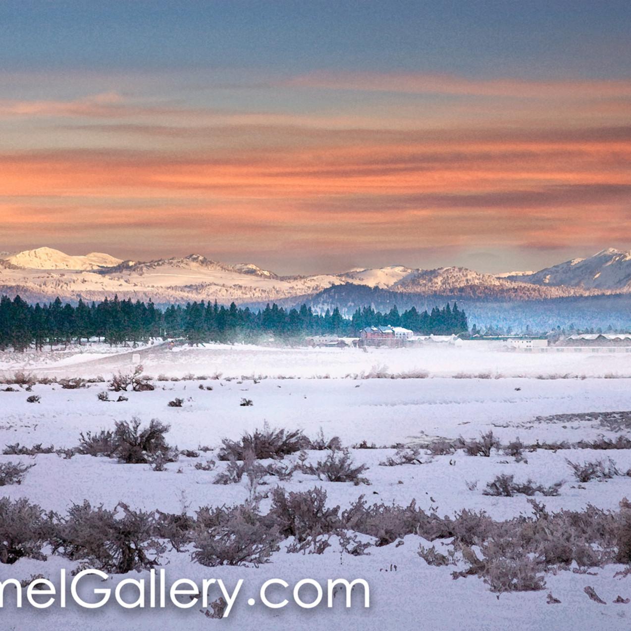 Winter sunrise martis valley gdyobp