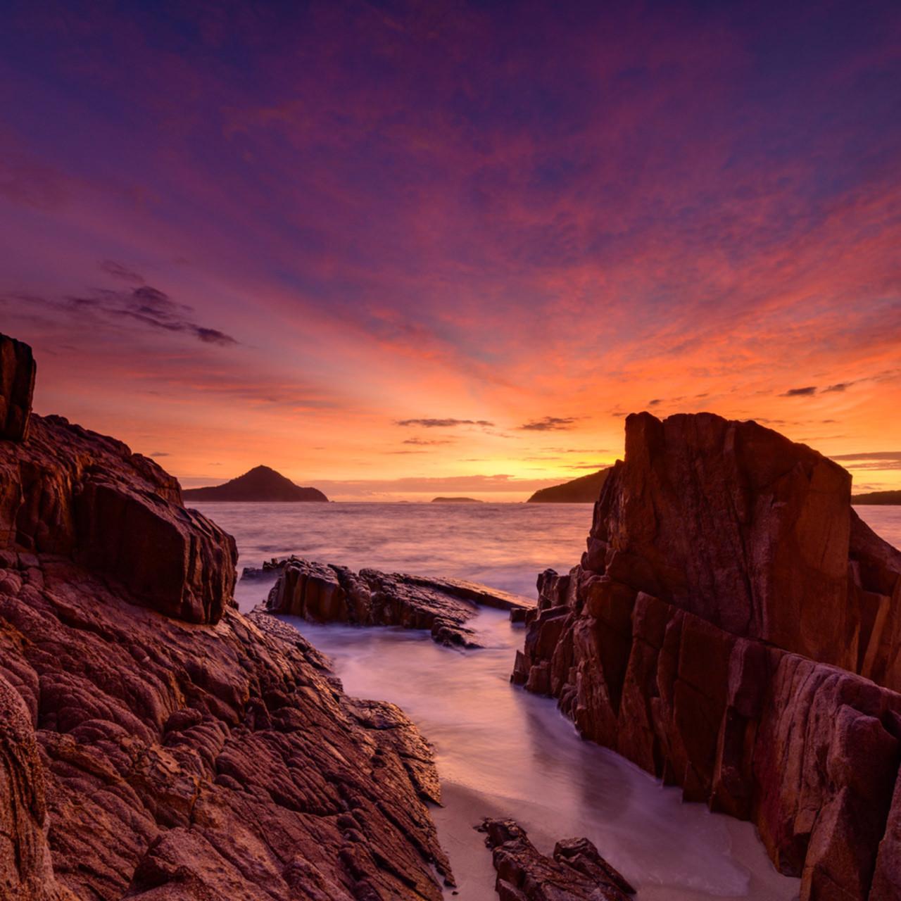 Magnificant shoal bay shoal bay port stephens sunrise jjn6rh