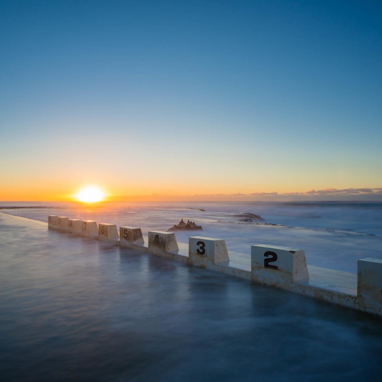 Baths sunrise merewether ocean baths newcastle nsw australia rbqzsb