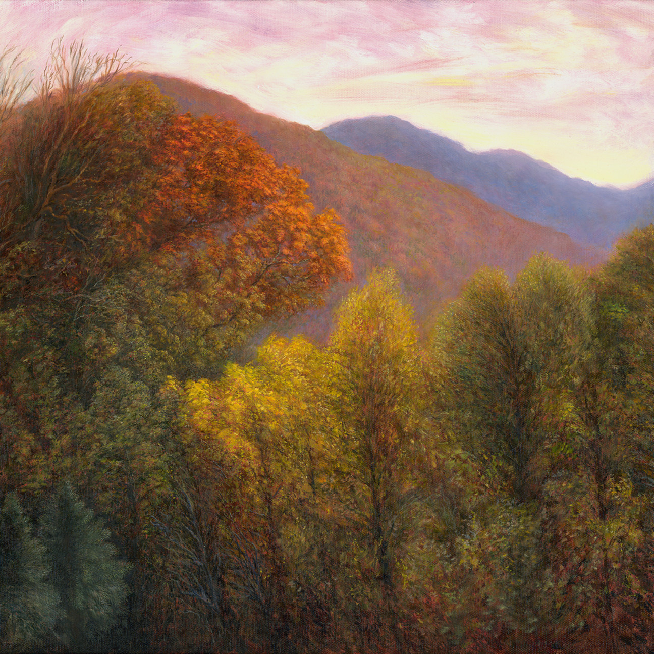 18x24 22300dpi swannanoa autumn scene   rafferty   painting ob1iv5