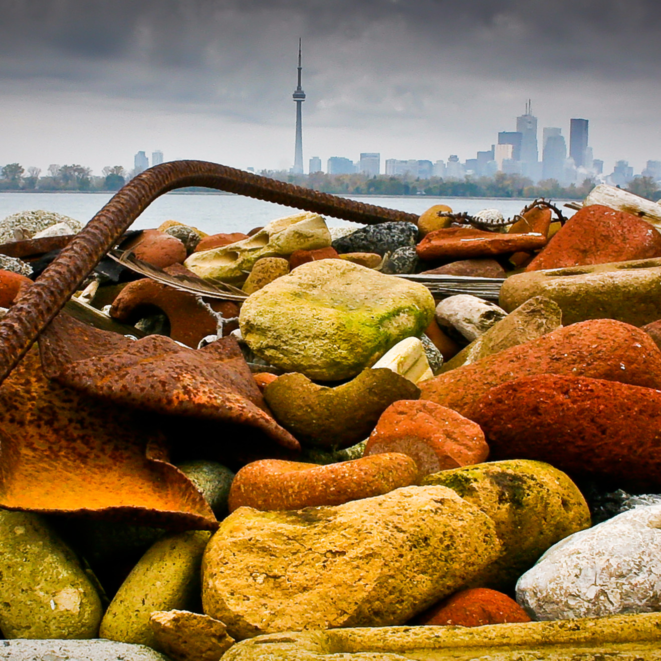 Toronto from the spit sbst0n