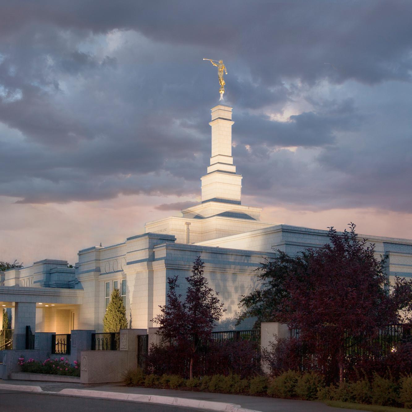 Robert a boyd edmonton temple stormy sky zclb4x