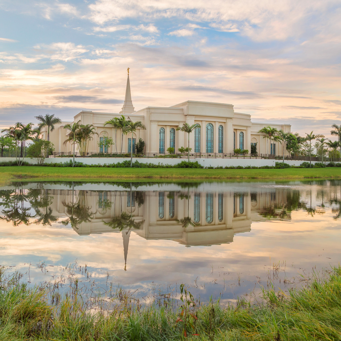 Robert a boyd fort lauderdale temple reflection pond bvbbff