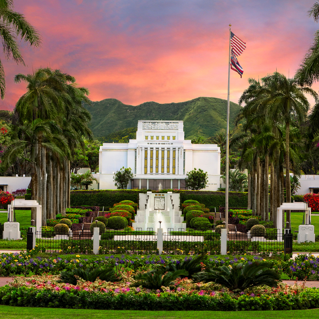 Robert a boyd laie hawaii temple blossoming spring usrcuf