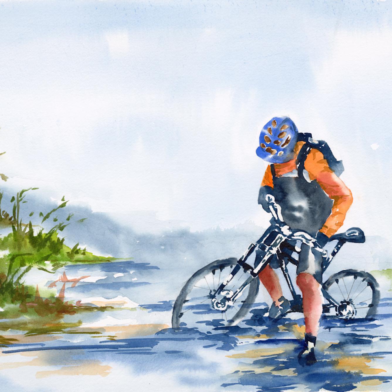 Bicycle   14x21 gzuq2h
