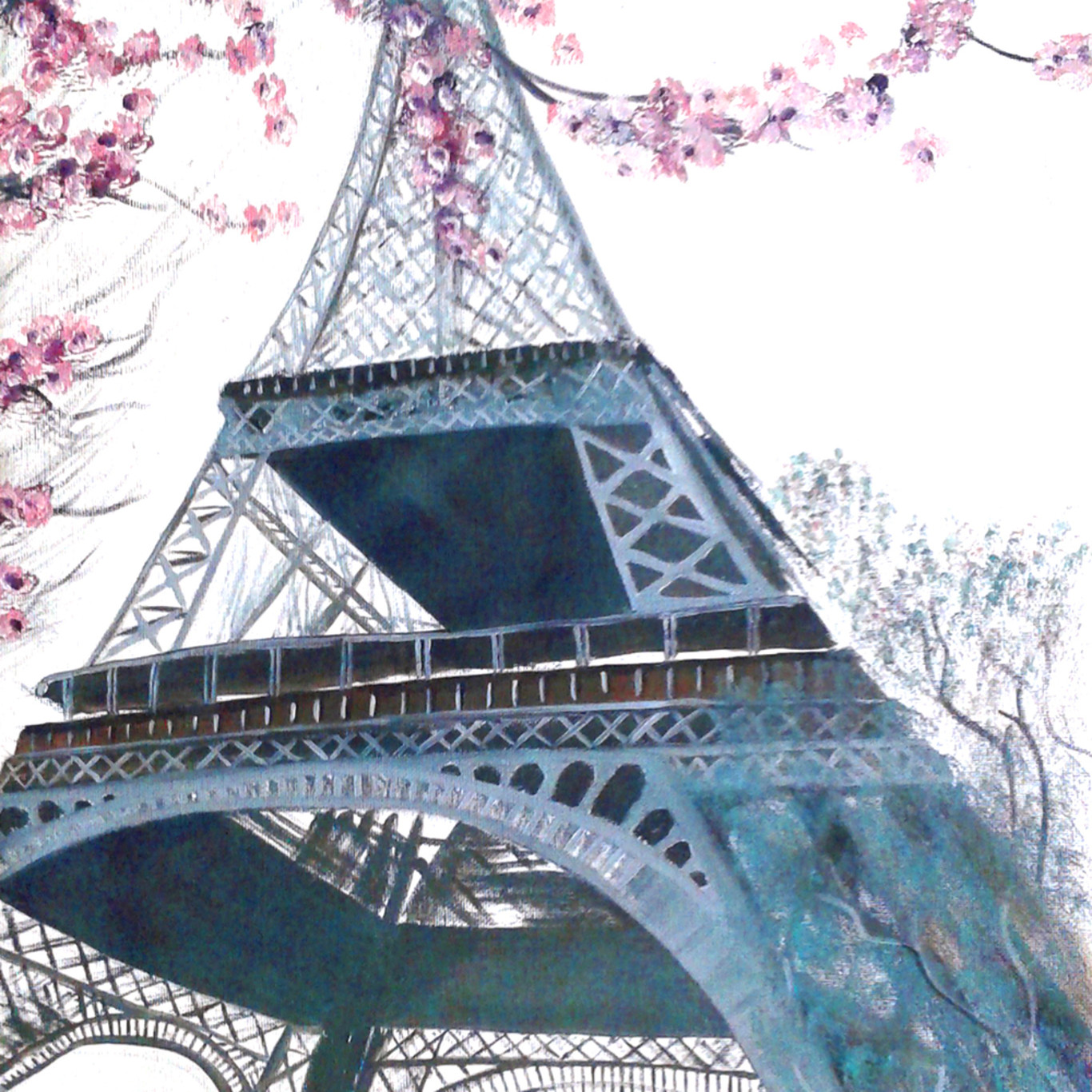Eiffel blossoms cpehmo