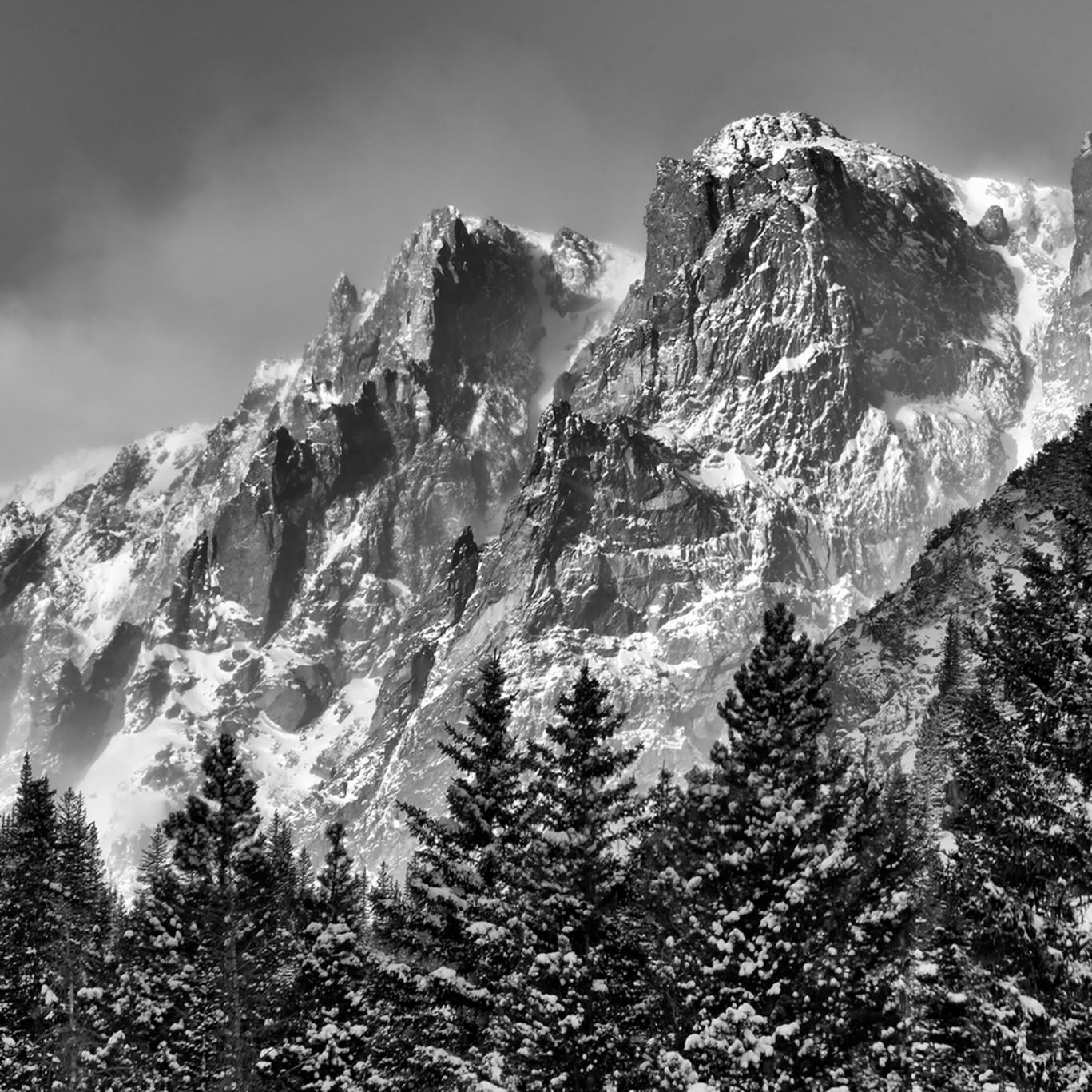 Flattop mountain b w ptucn6