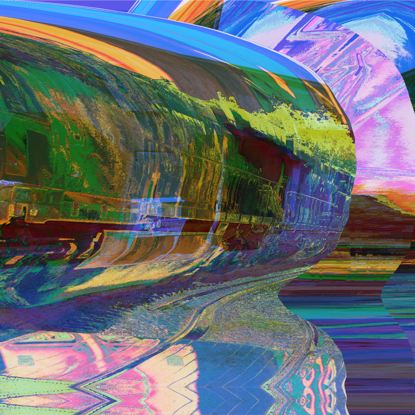 Locomotive in a bottle ii xbufxe