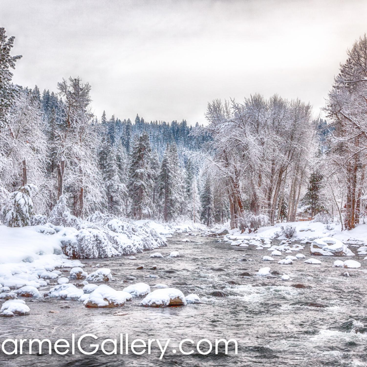 Truckee river in winter hagdoh