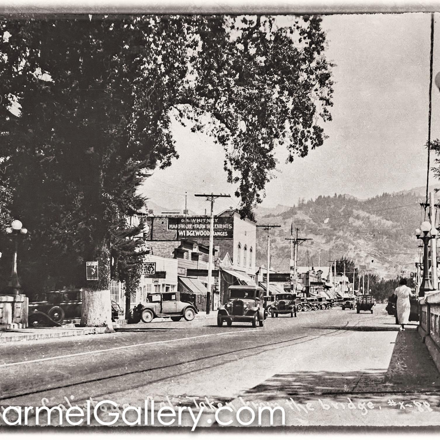 Bridge view calistoga 1930 s uanque