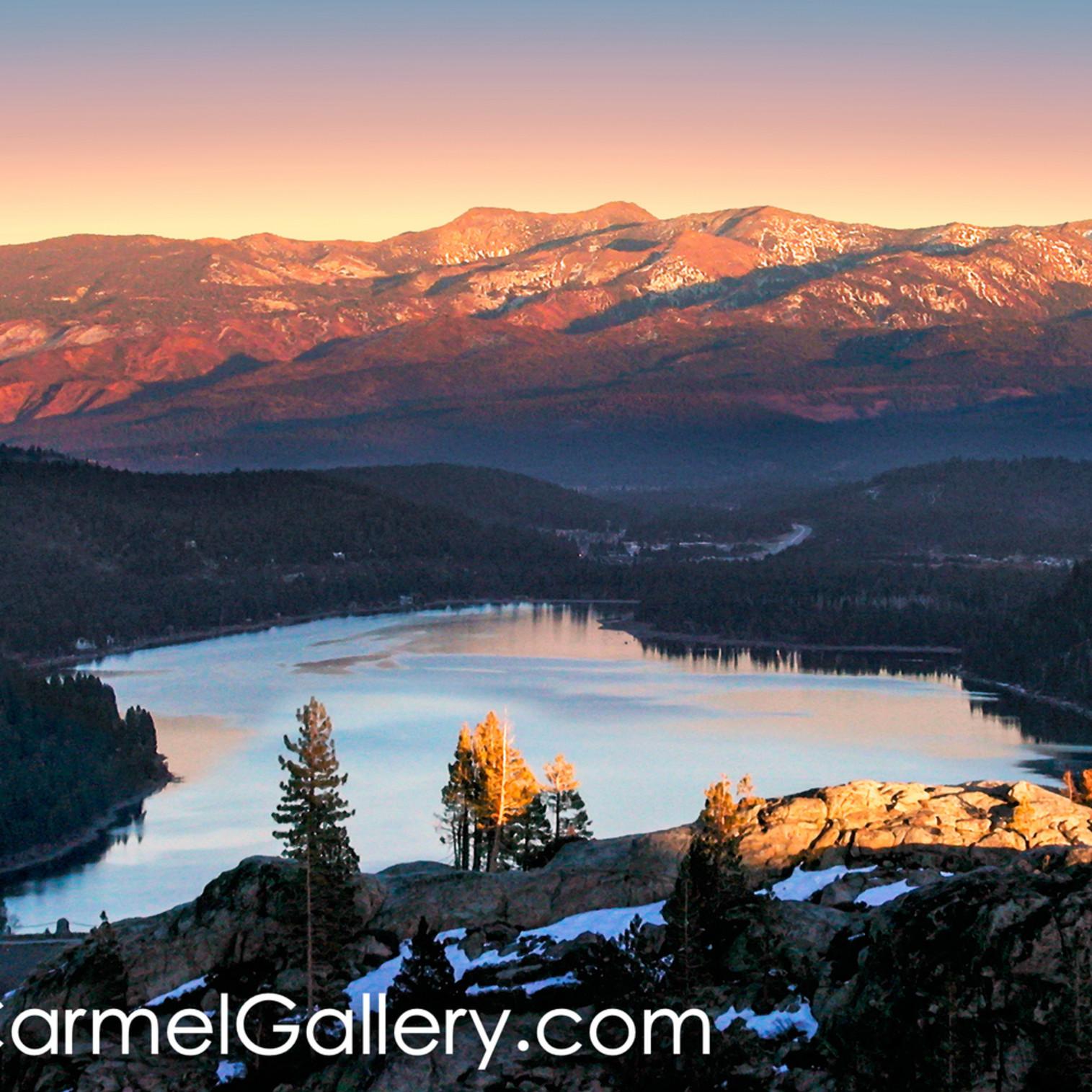 Donner lake sunset k0mfuc