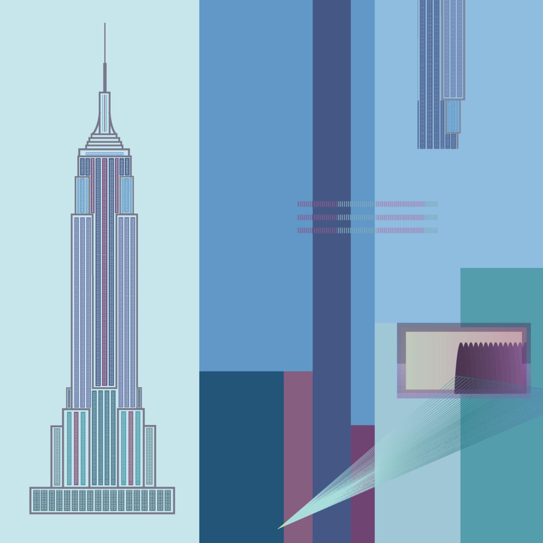 Empire State Building Architecture Wall Art Art Vortex