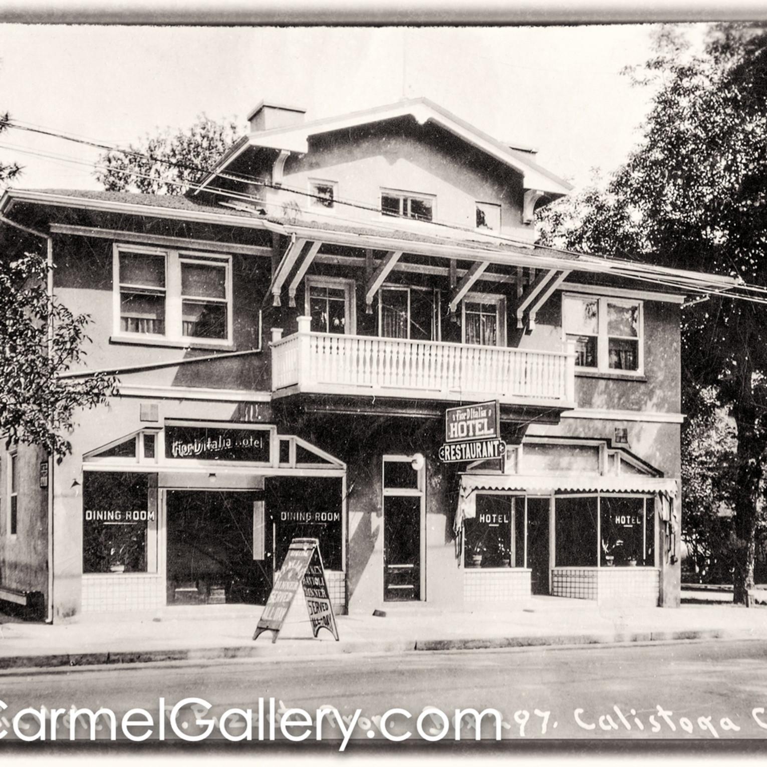 Calistoga inn 1920 s pmvveo