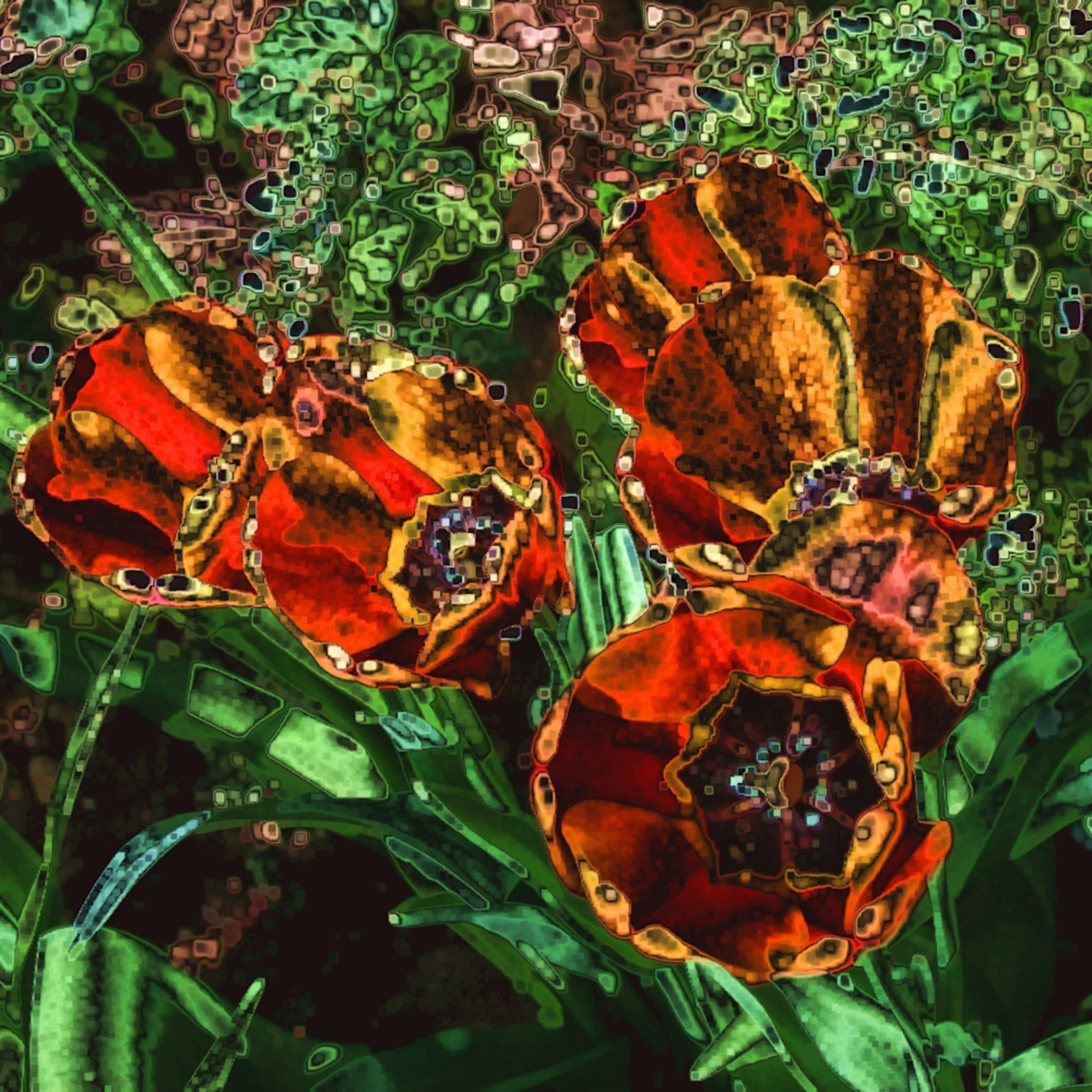 Orange tulip chrome rwf9xb