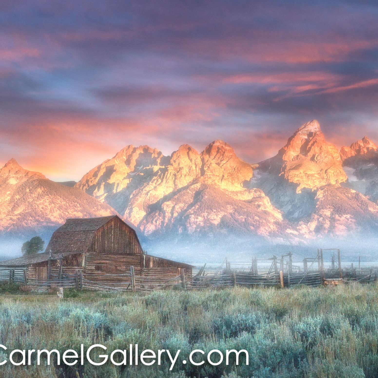 Grand teton homesteader sunrise btplwz
