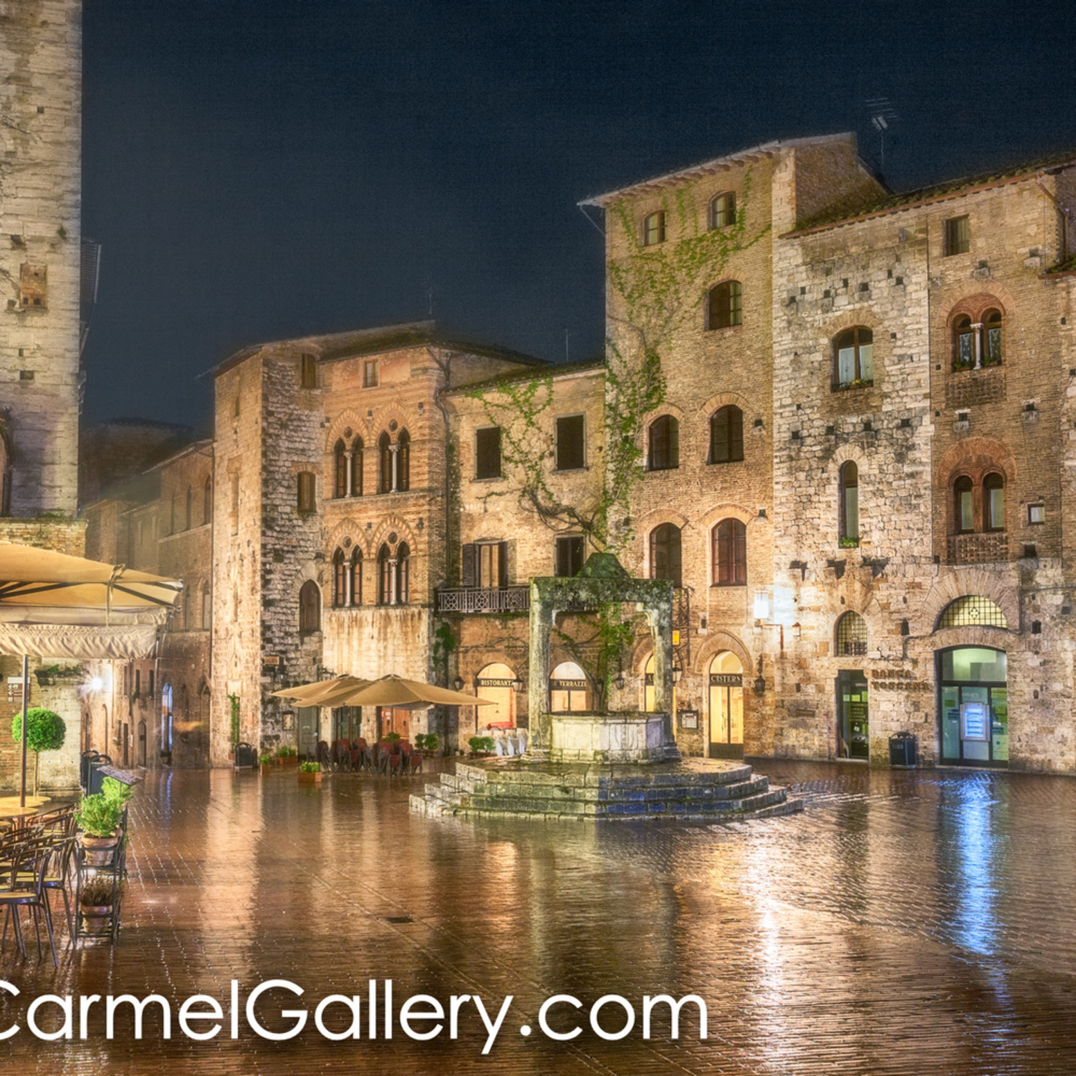 Piazza della cisterna rain gna3zc
