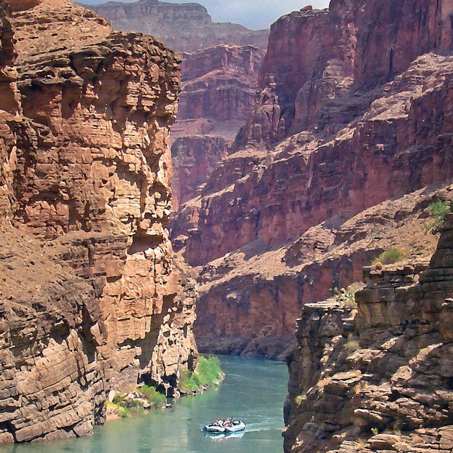 Calm waters grand canyon iuku8m
