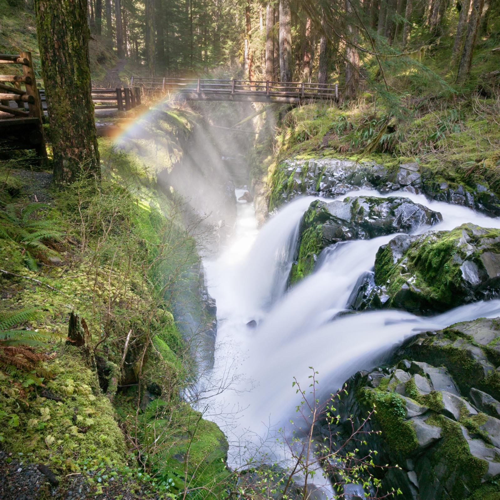 Sol duc olympic waterfall hnuvrd