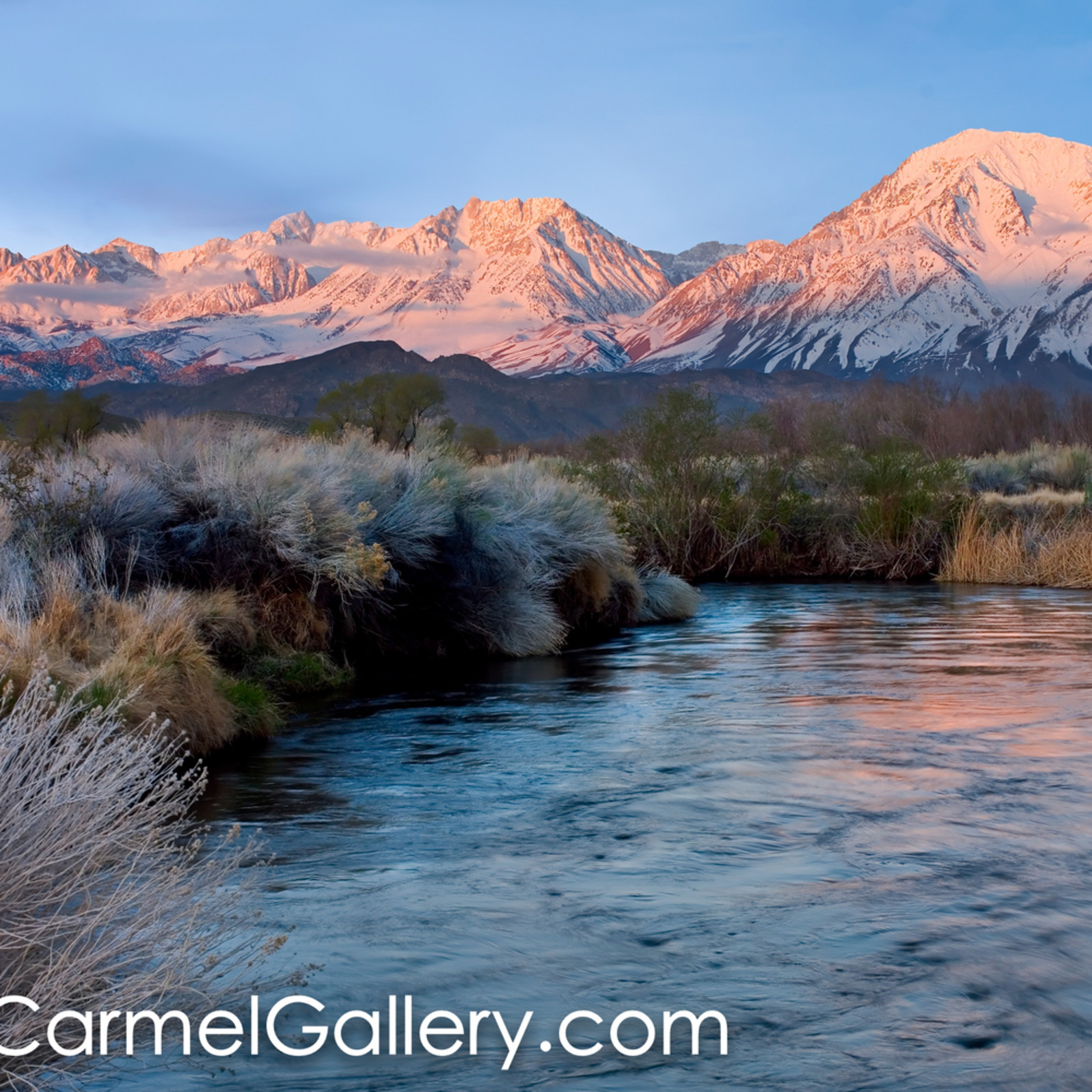 Owens valley sunrise dswbho
