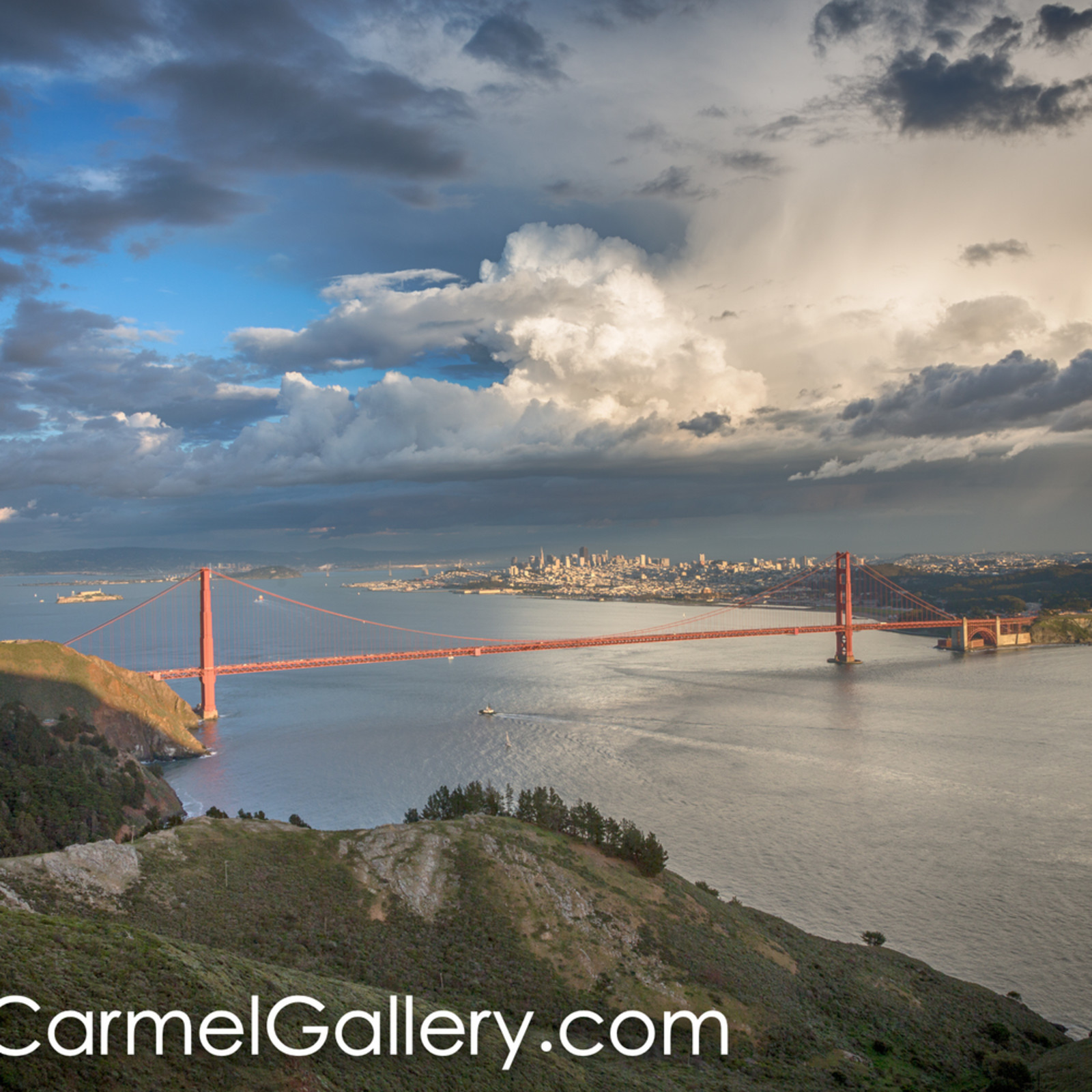 Clearing storm golden gate iblzb9