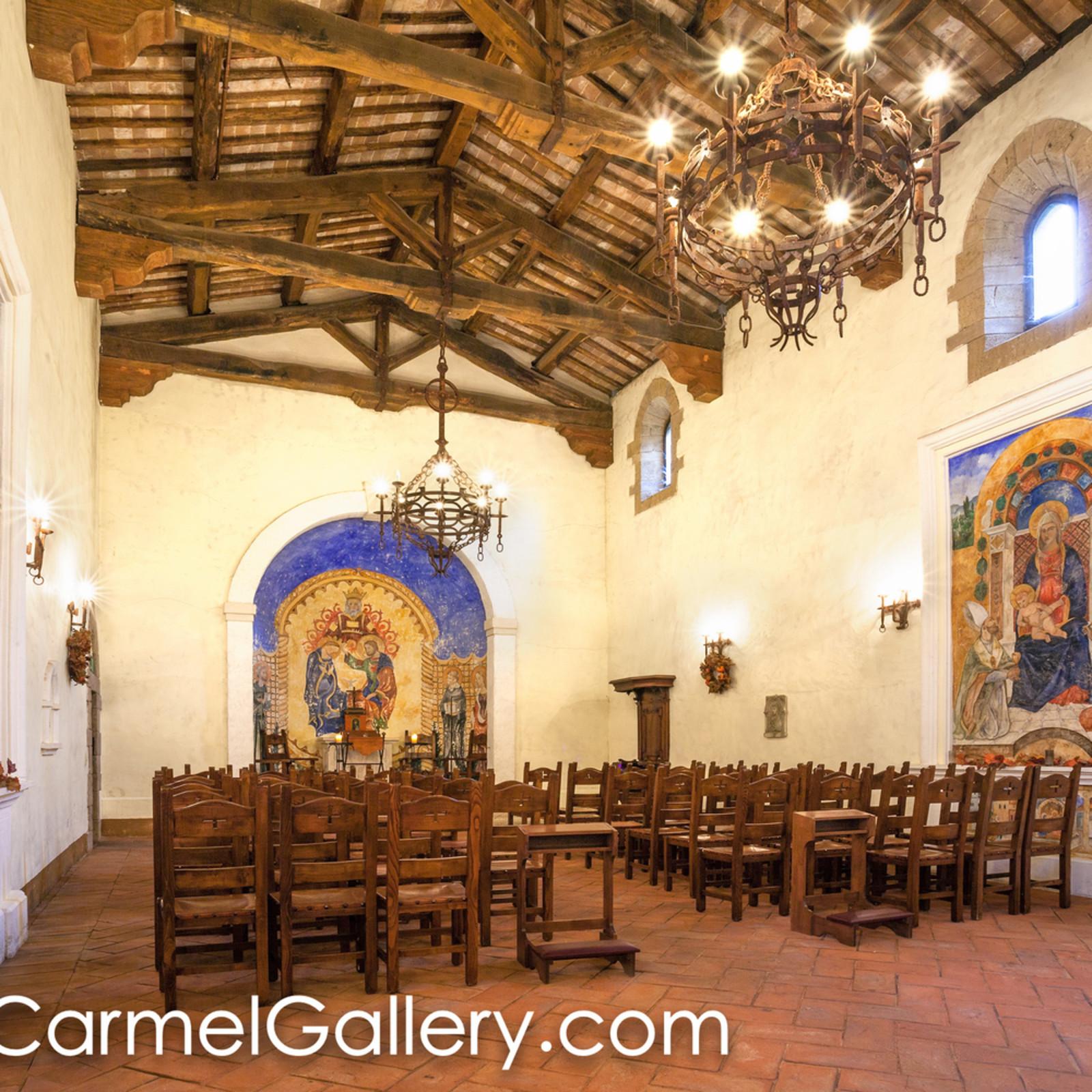 The chapel castello di amorosa lbjptx