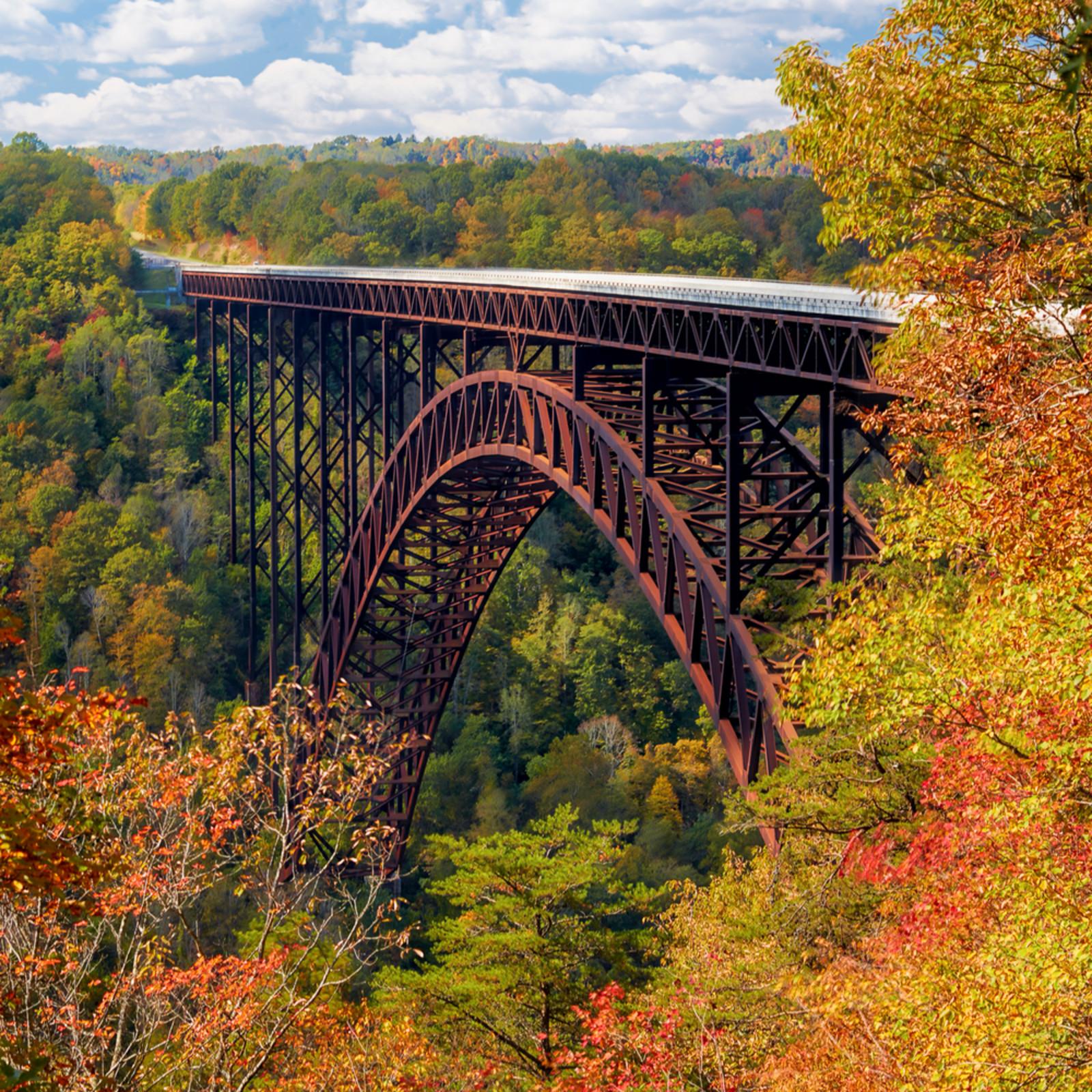 New river gorge bridge oscar 4x5 n01nku