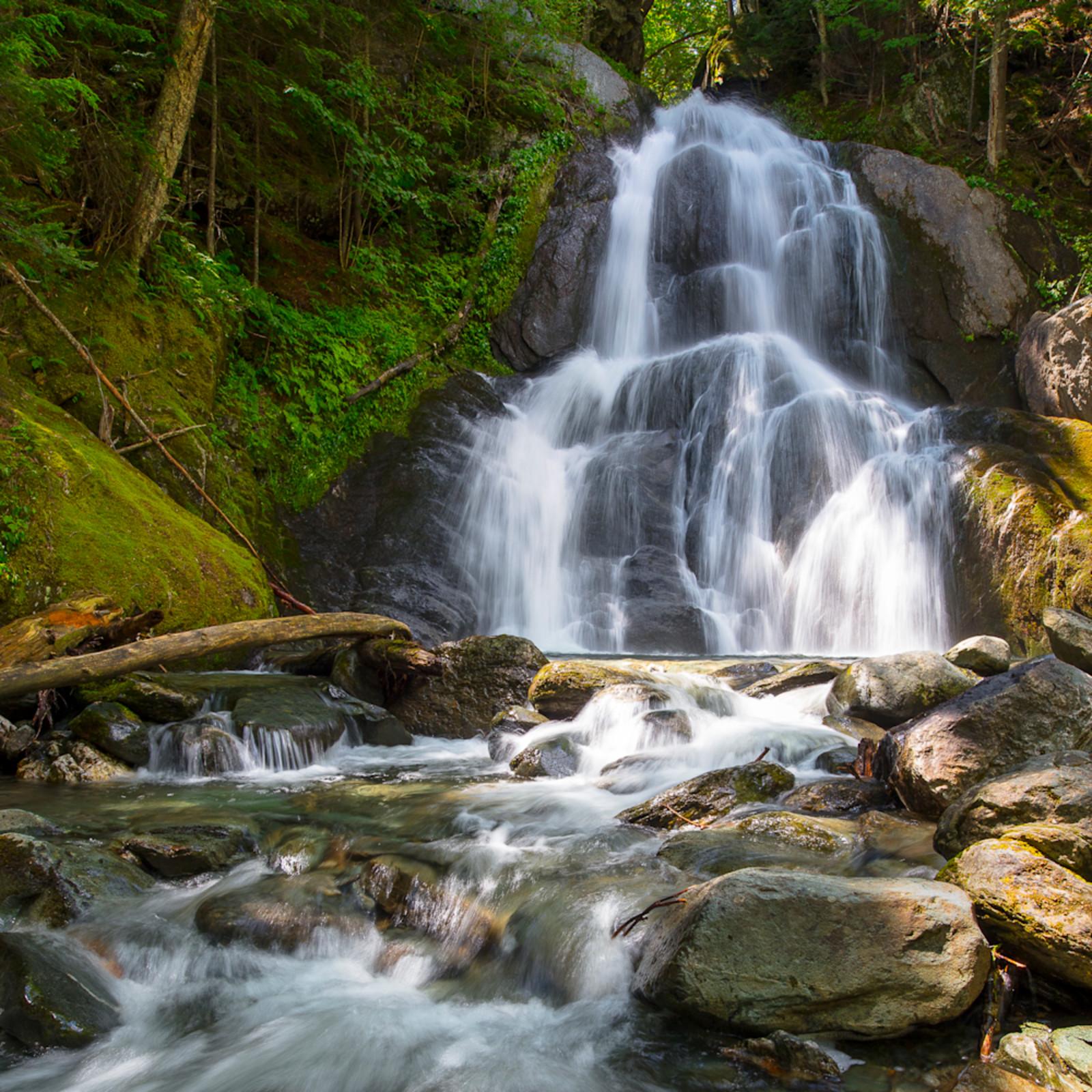 Summer break at moss glen falls echo 4x5 vjgd2j