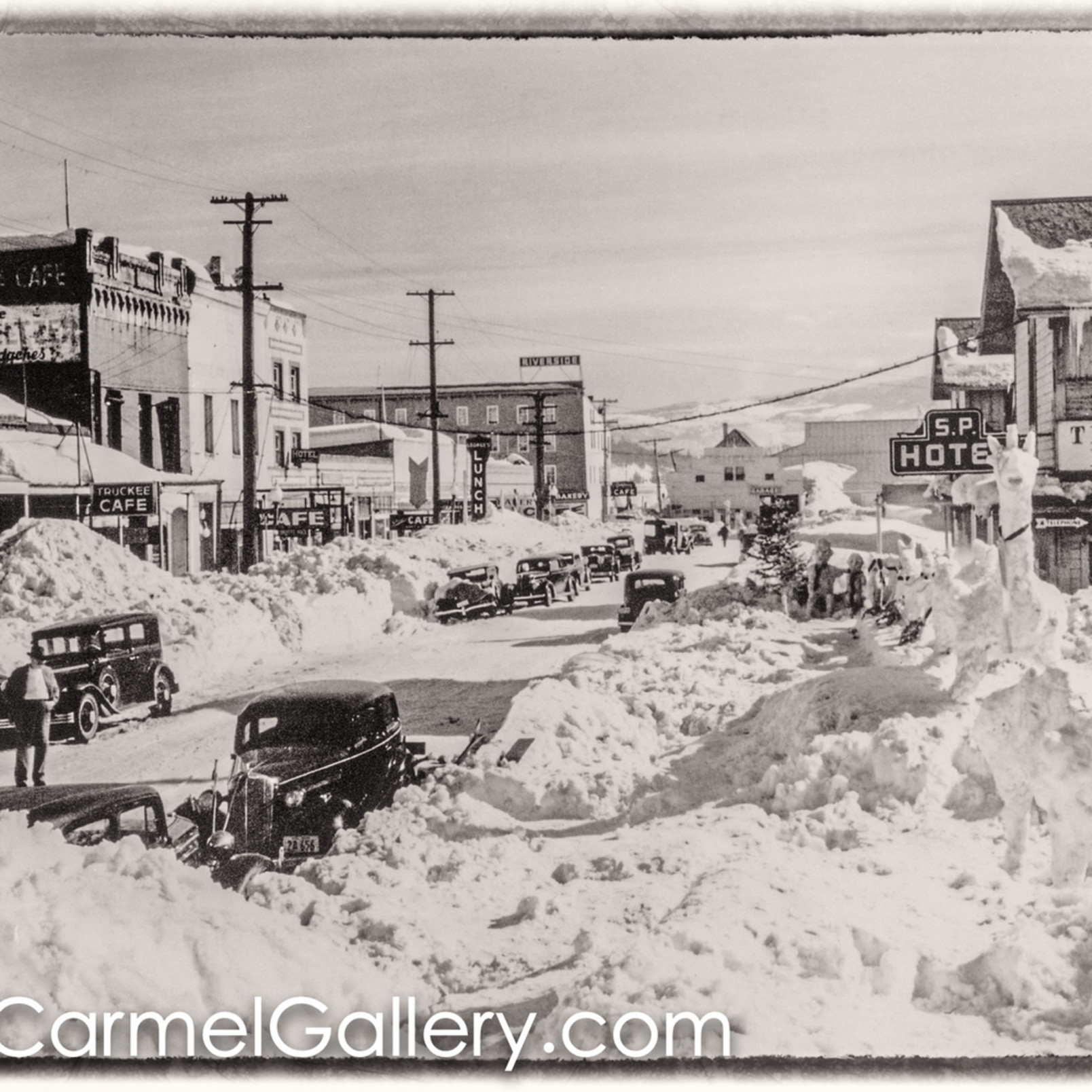 Truckee main st winter 1930 s vn4j5j