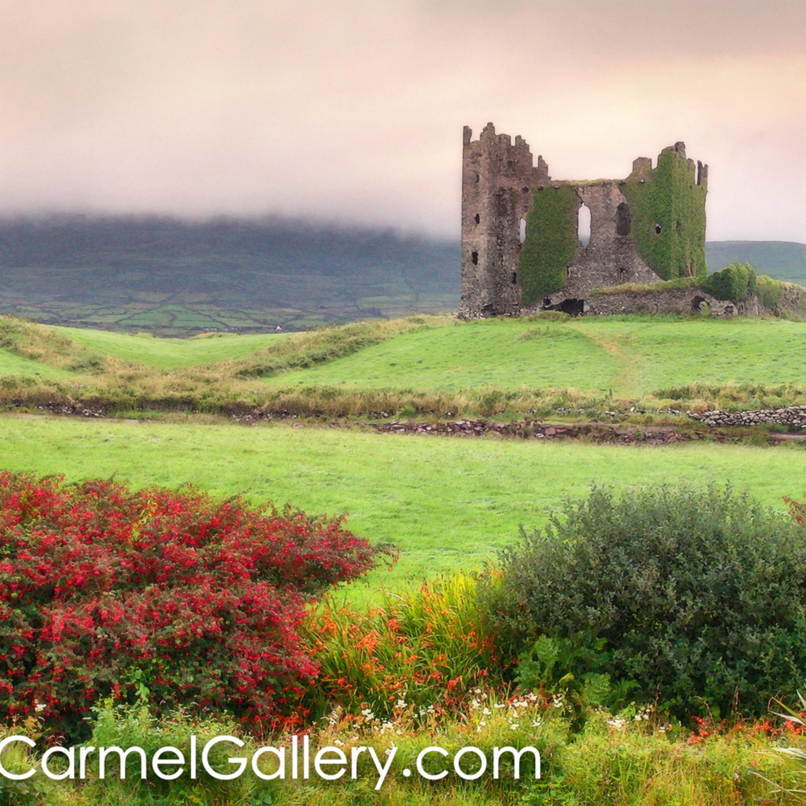 Castle ruins ireland yon9mz