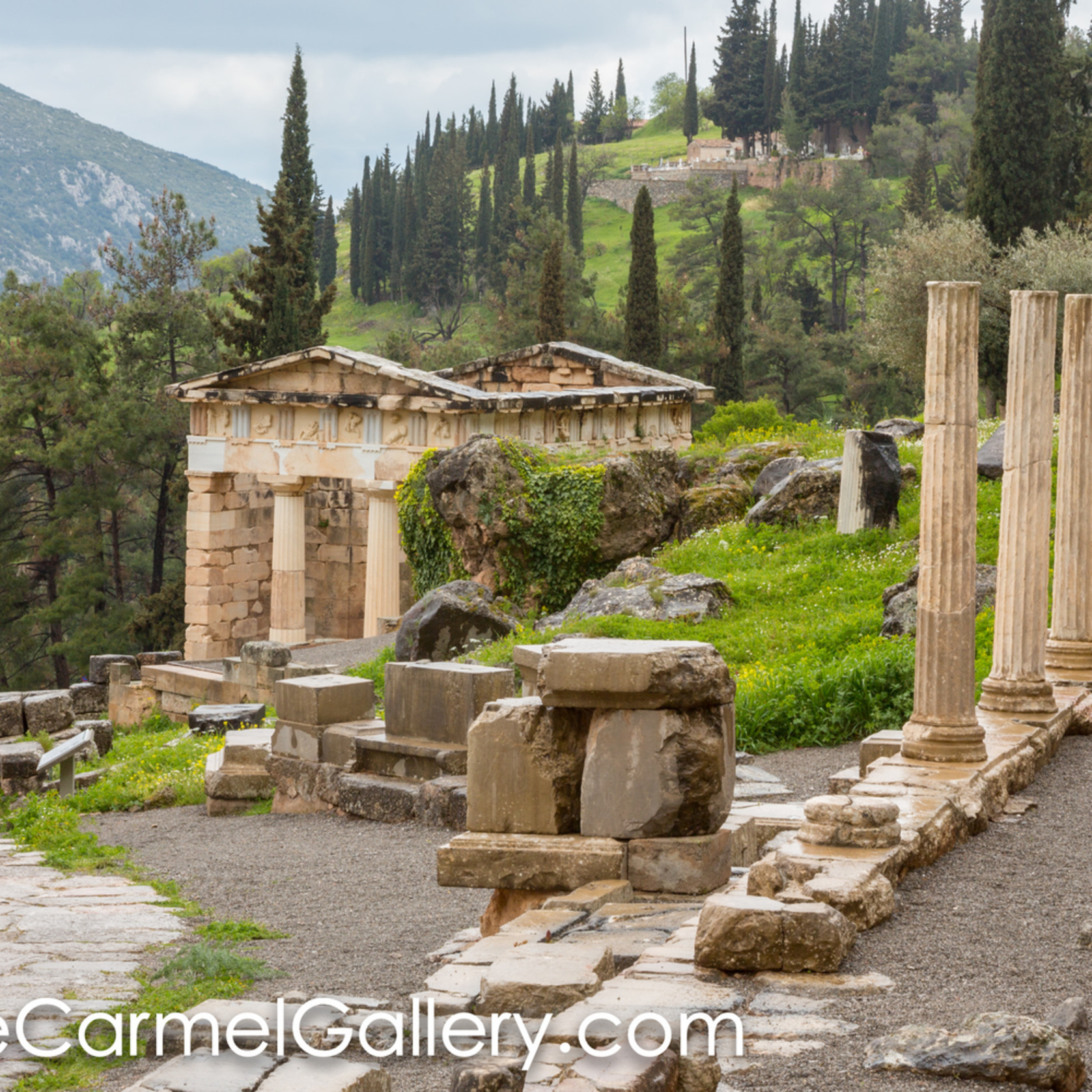 Apollo at delphi ofyqth