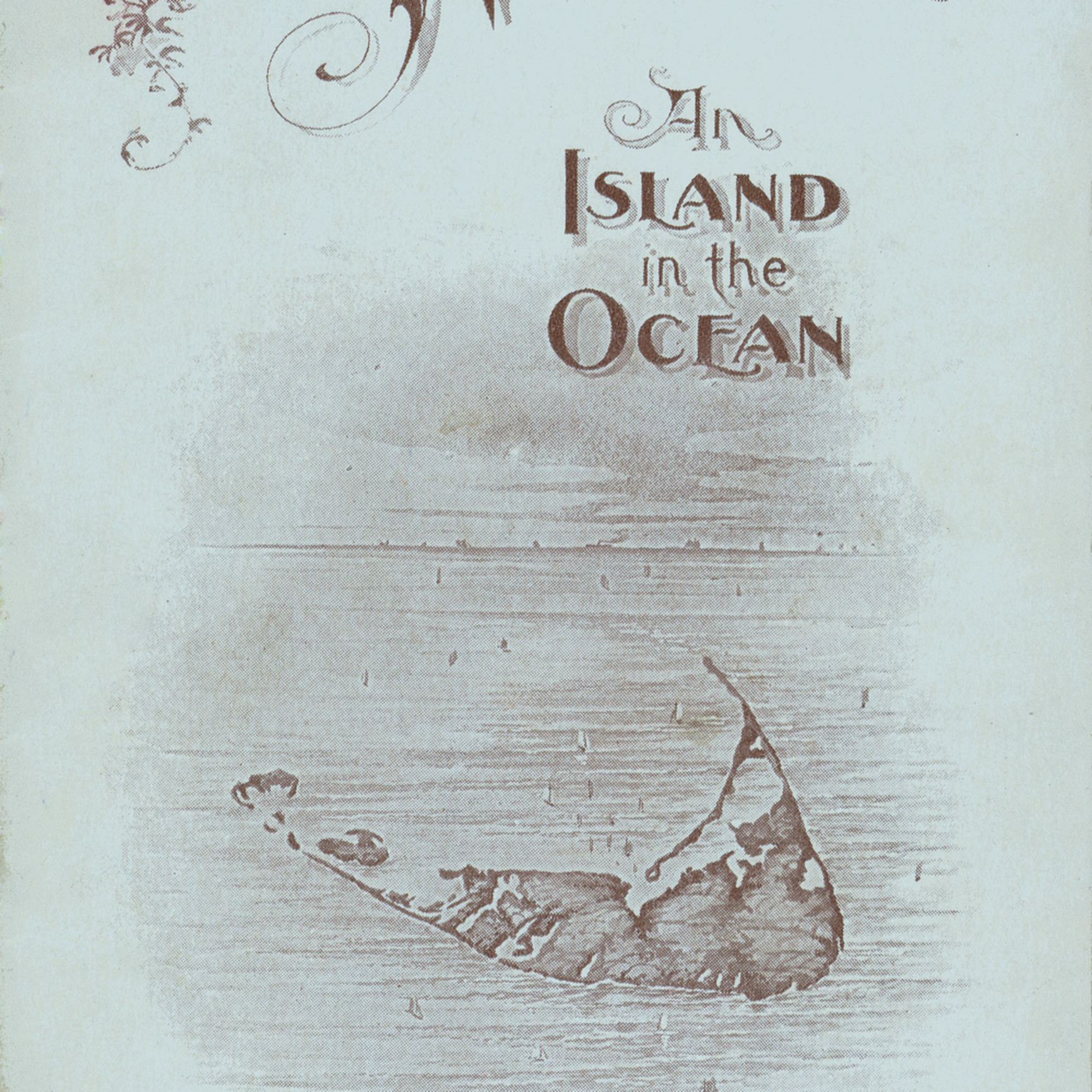 010 p nantucket1897 the island in the ocean color 11.5x23.5 22 eapxuo