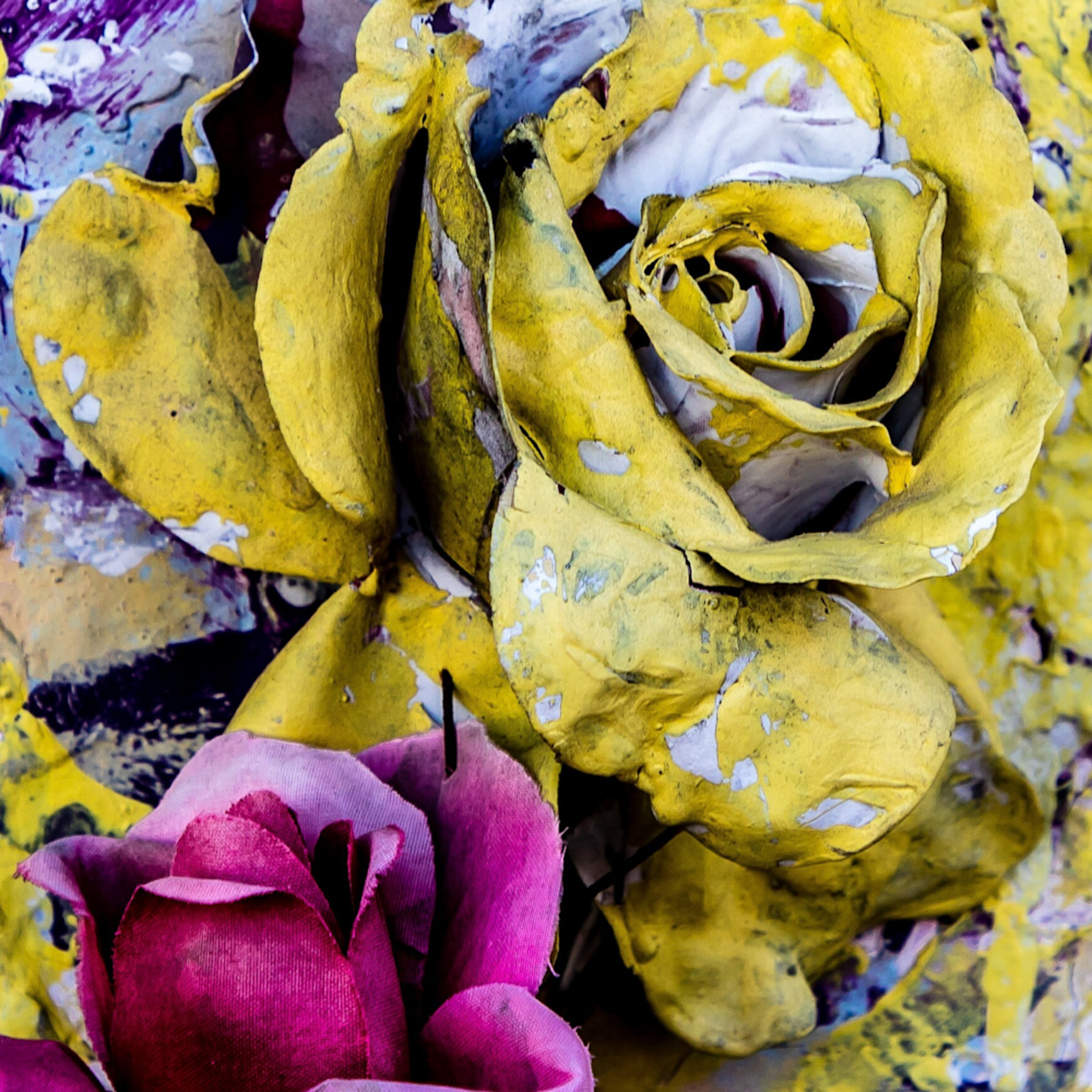 Voodoo painted roses st louis cemetery 1 new orleans 2017 ujxyn6