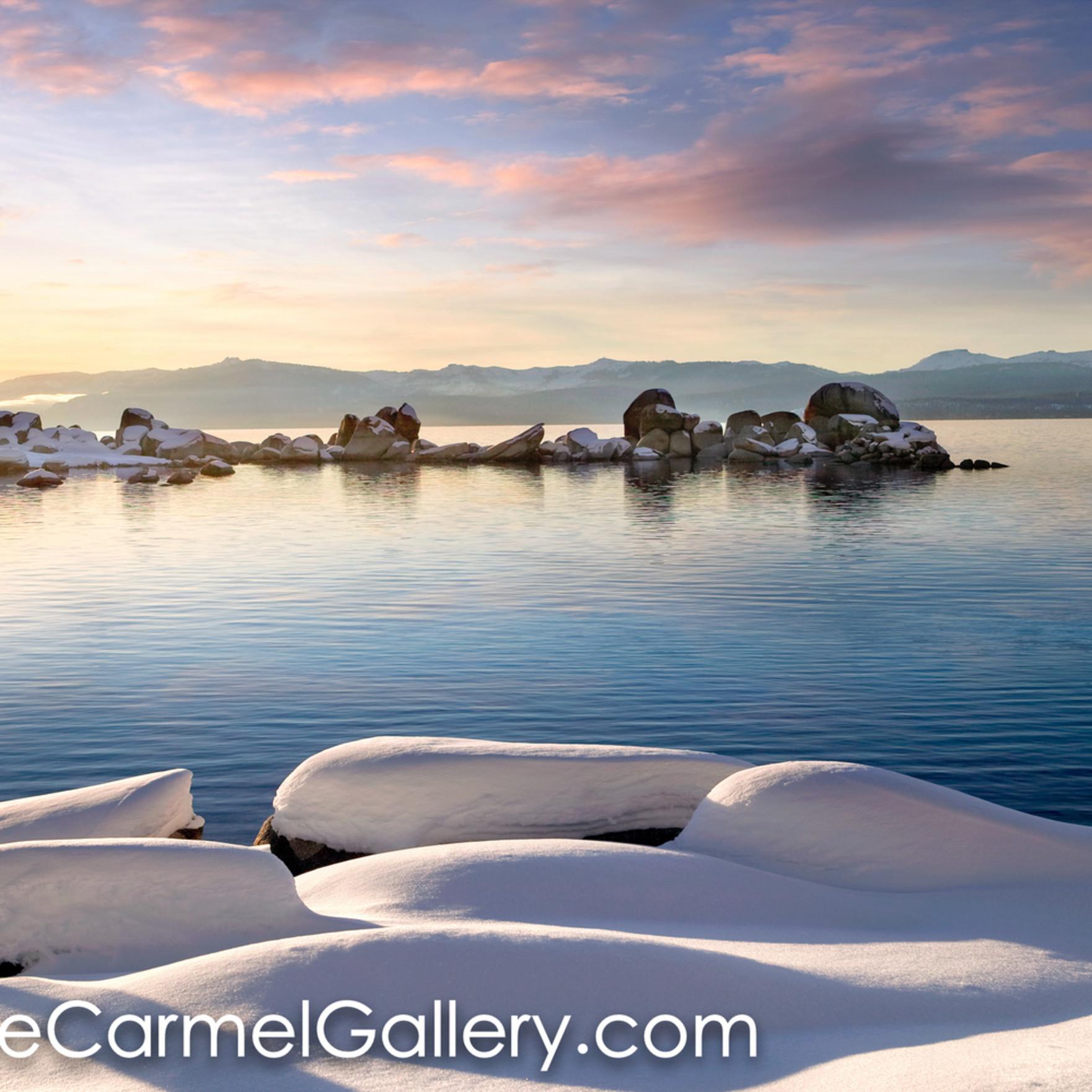 Snow rocks lake tahoe tnqdku