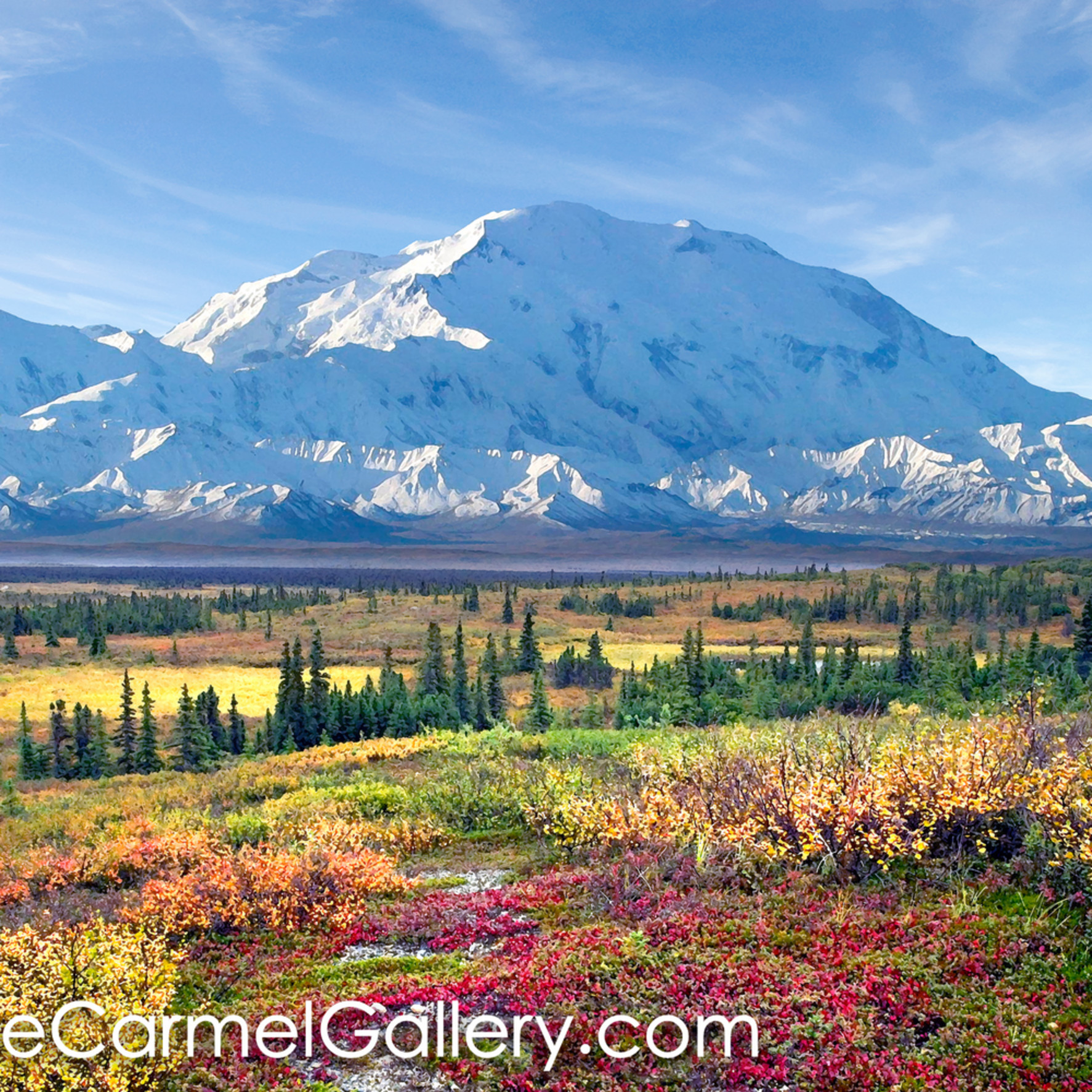 Autumn morning denali invhrf