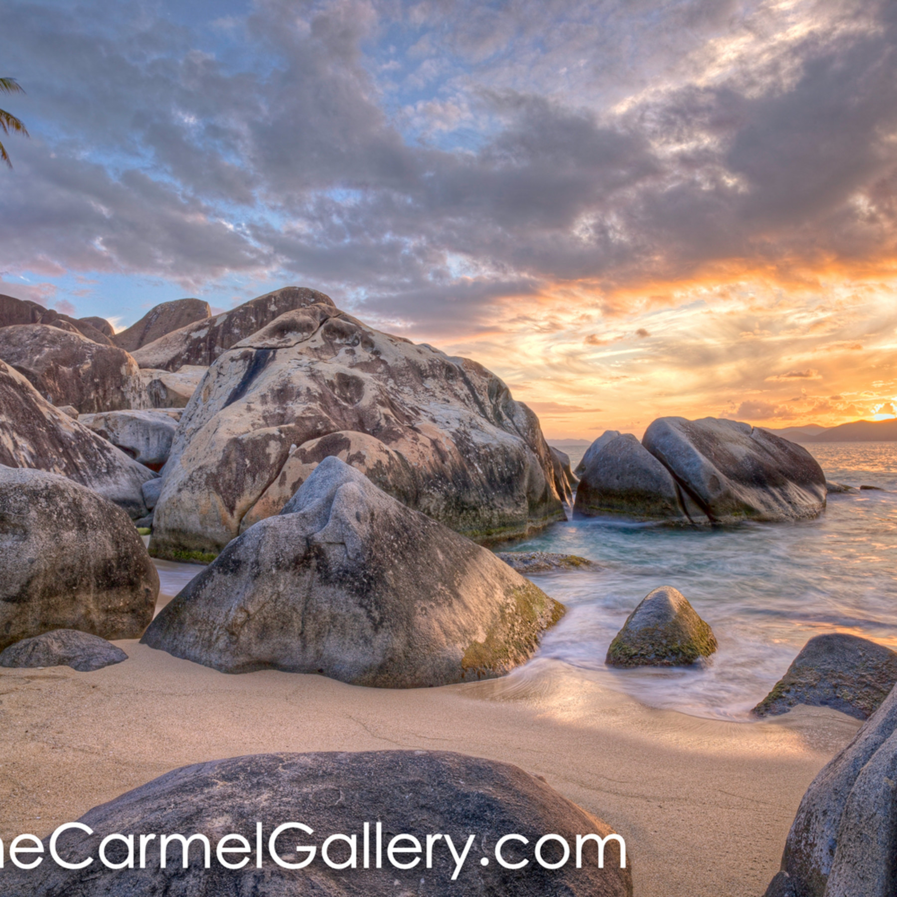 Caribbean sunset iv tqhjez