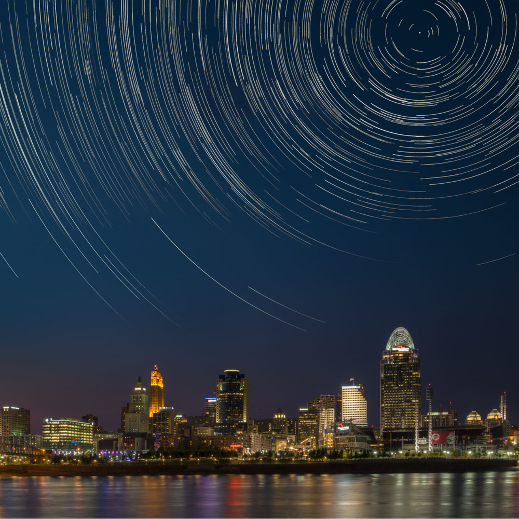Cincinnati trails 24x16 digital composite image mmbuqm