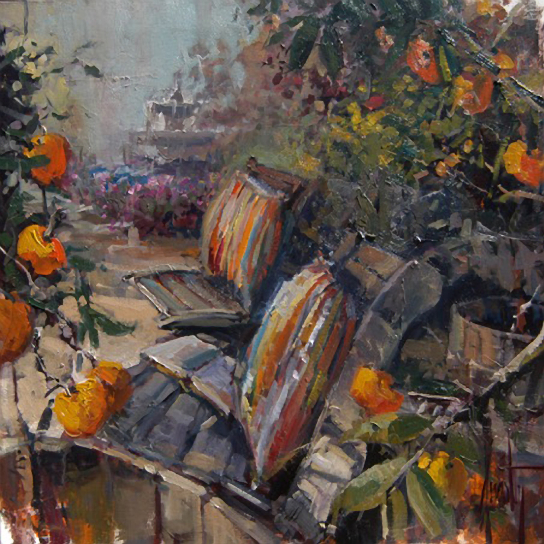 In the garden 24x24 fsfrg3