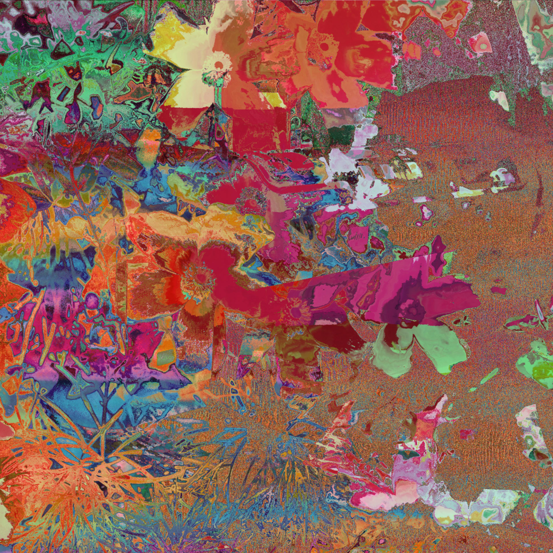 Charming floral tapestry ii pj7hoq