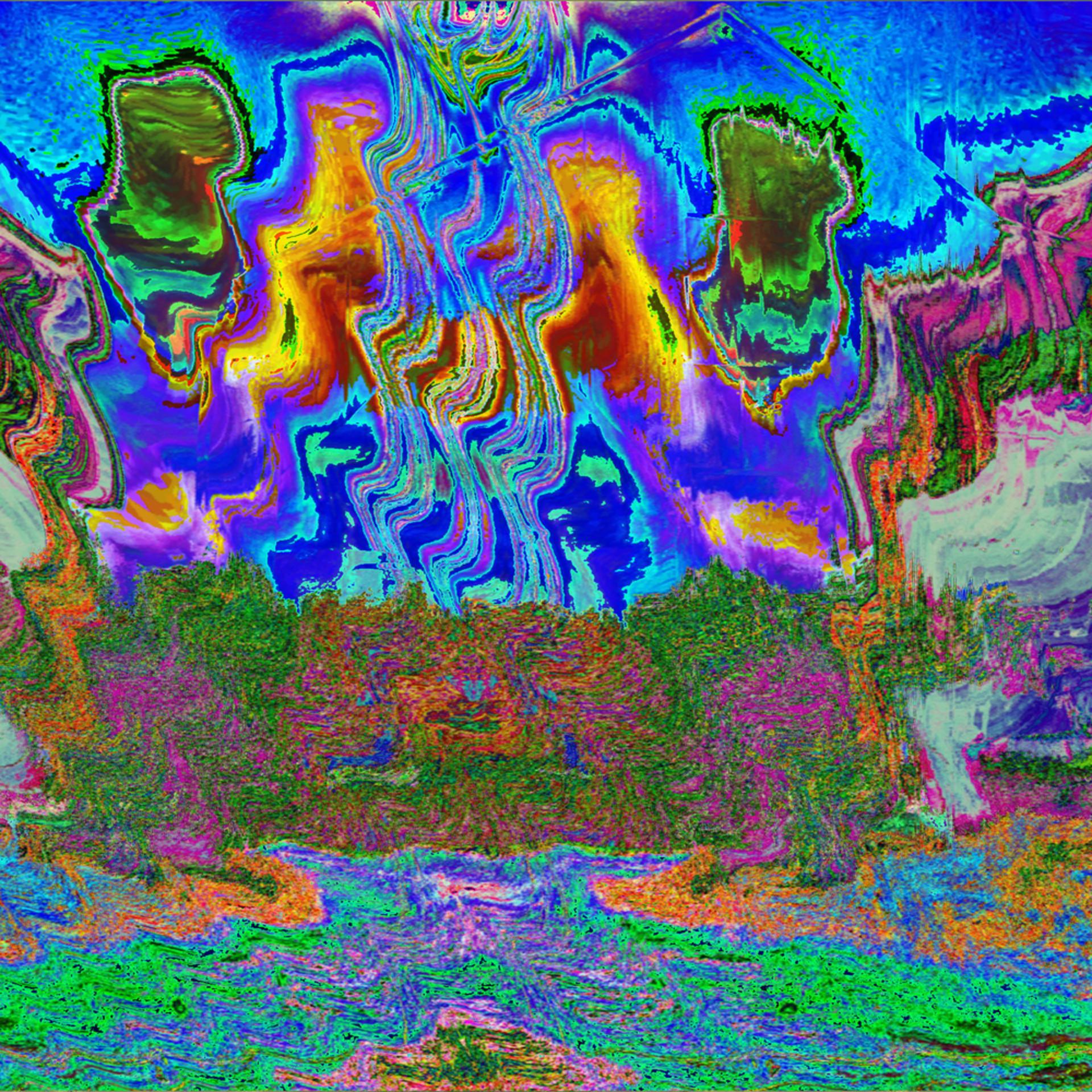 Paramecium dance in the sky loqjcq