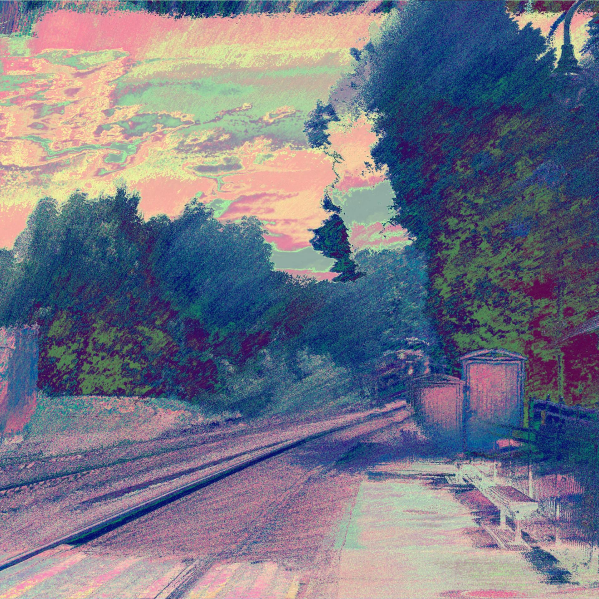The train approaches kensington dawn ii jaw4eg