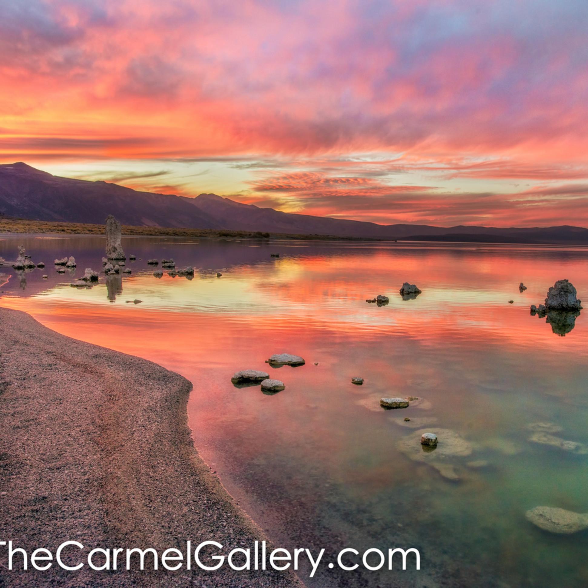 Autumn sunset mono lake tptyzl