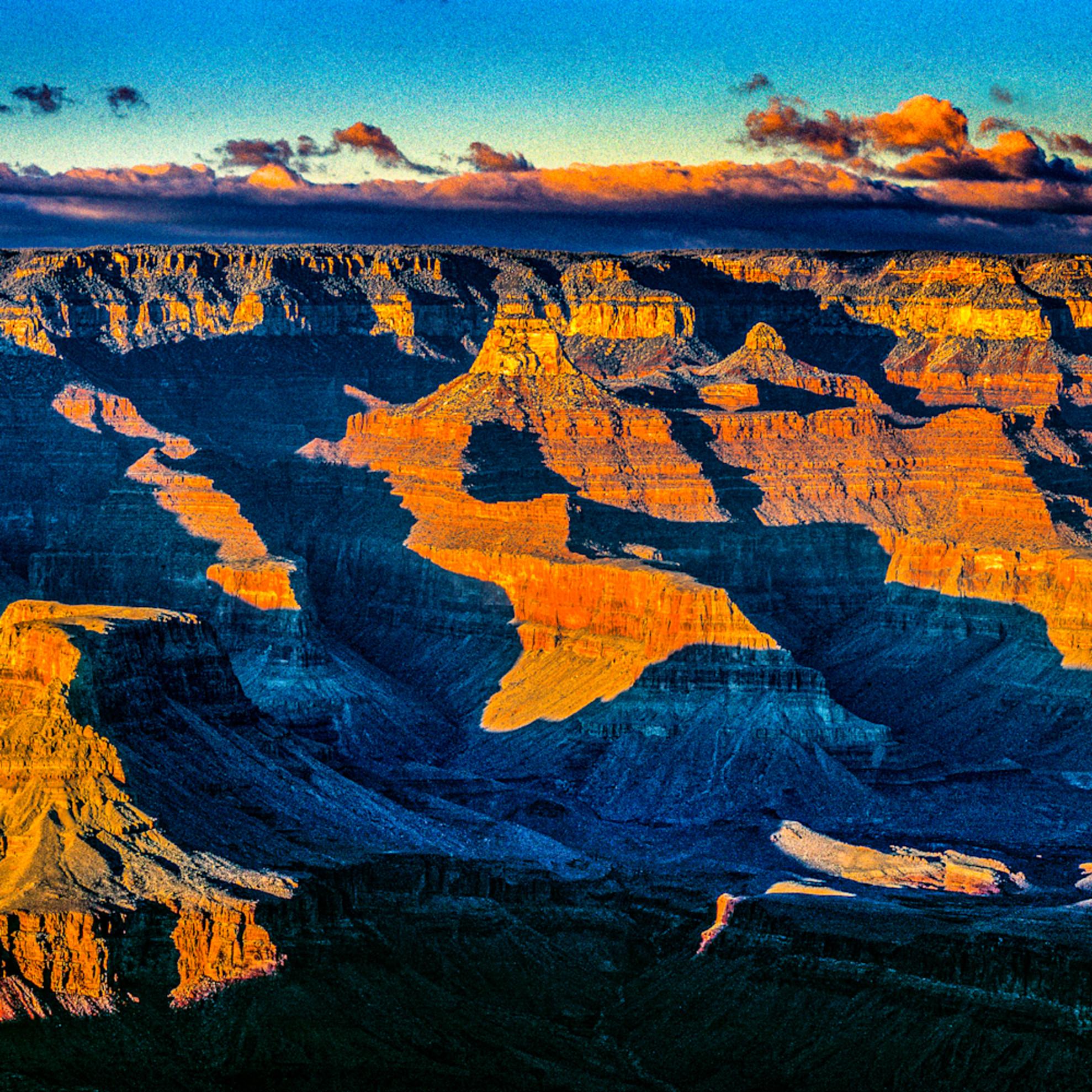 Grand canyon pan sunset lobl8h