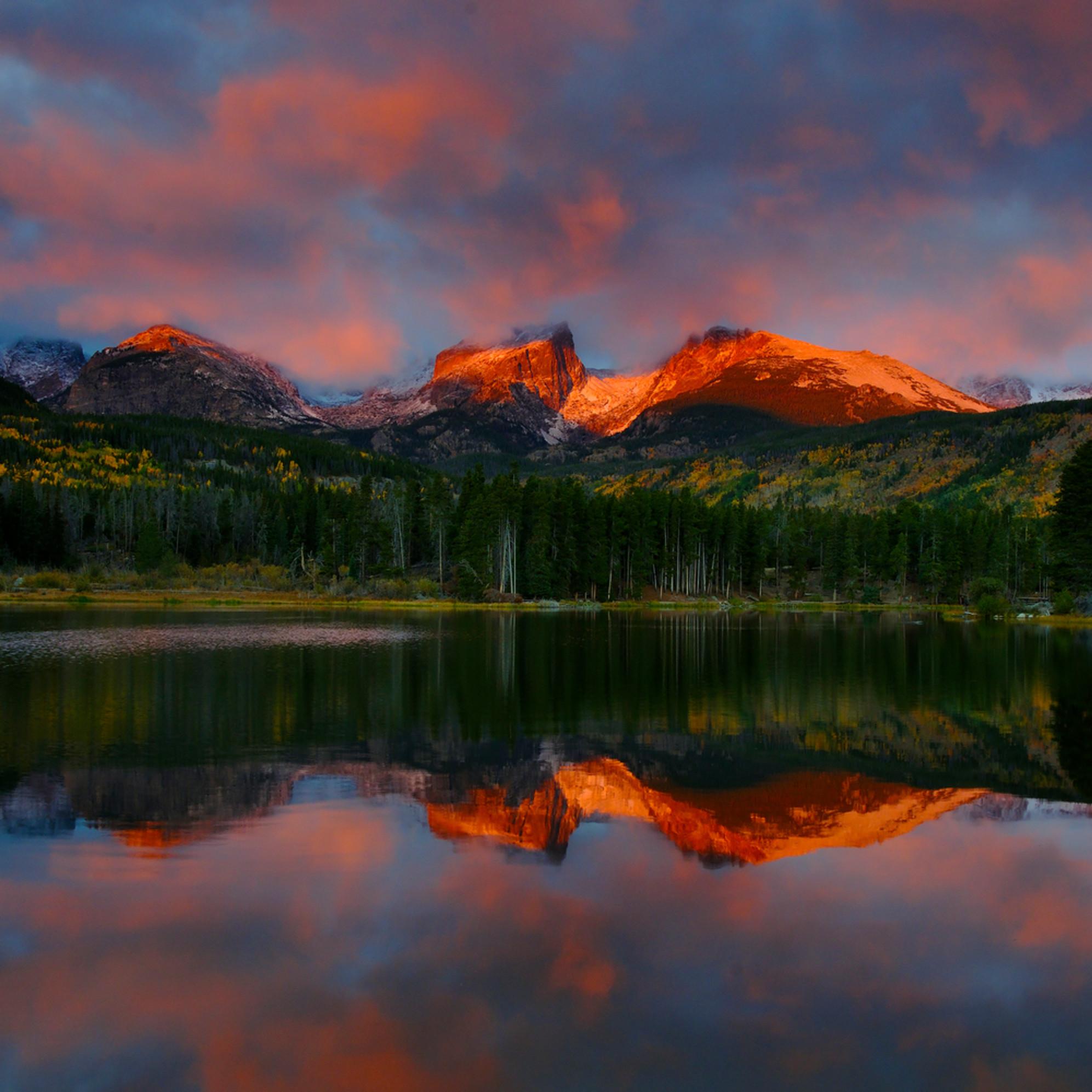 Sprague lake sunrise nda82d