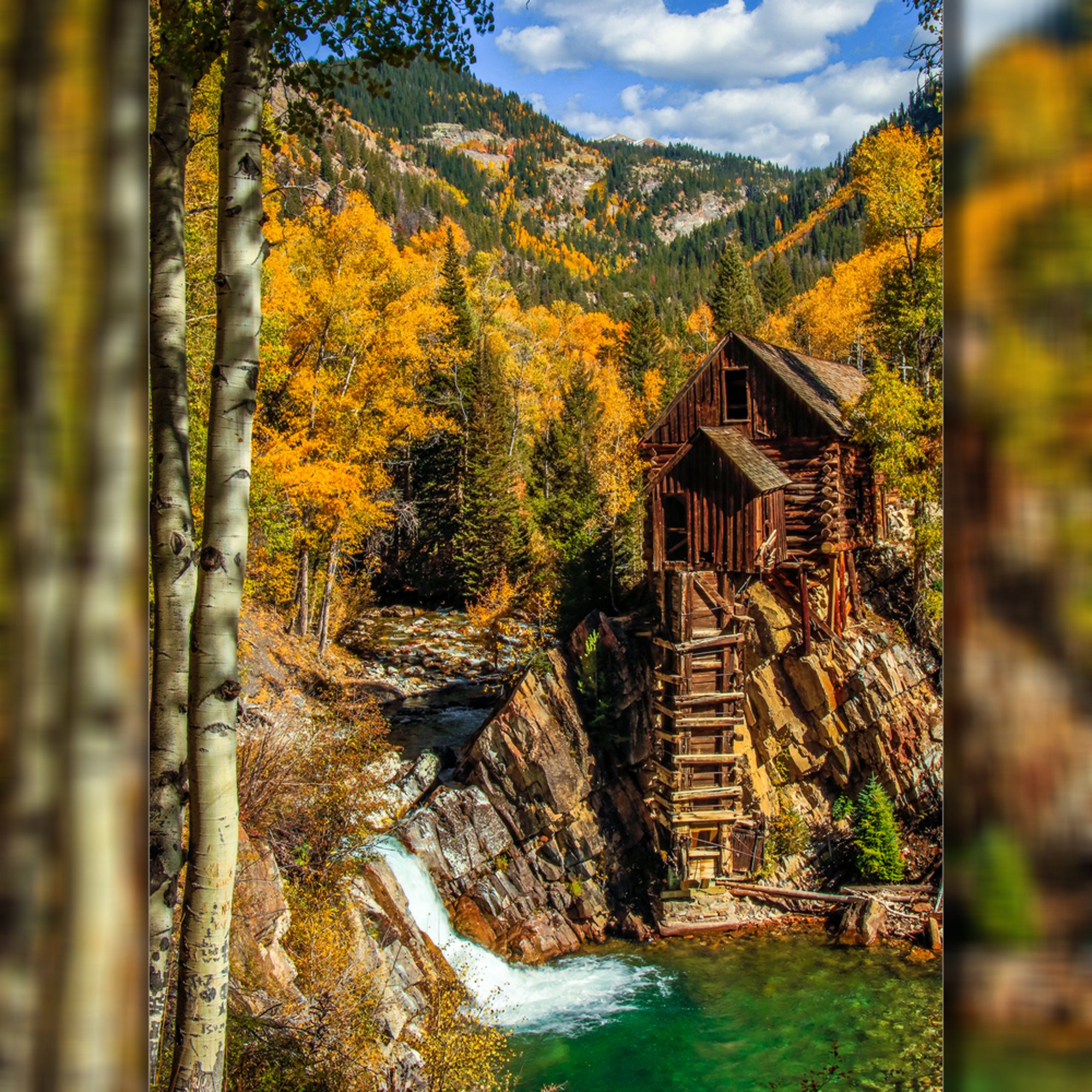 Crystal mill   the old mill pano v 3d fmrool