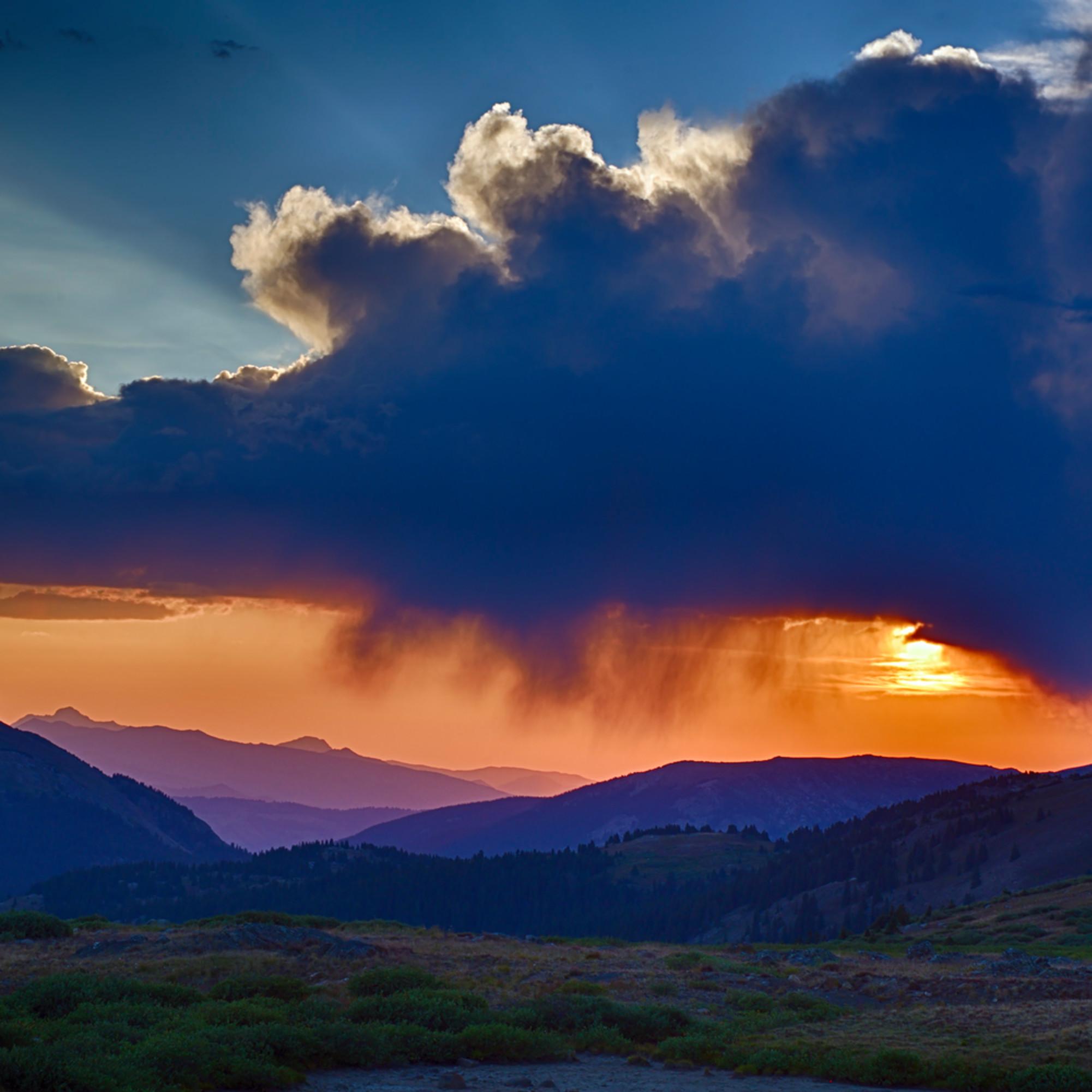 Sunset at independence pass vwqfil