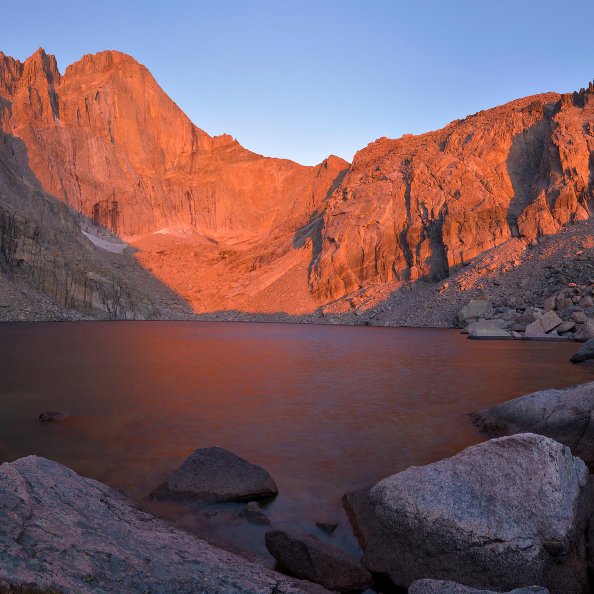 Chasm lake sunrise 2 j52r3s