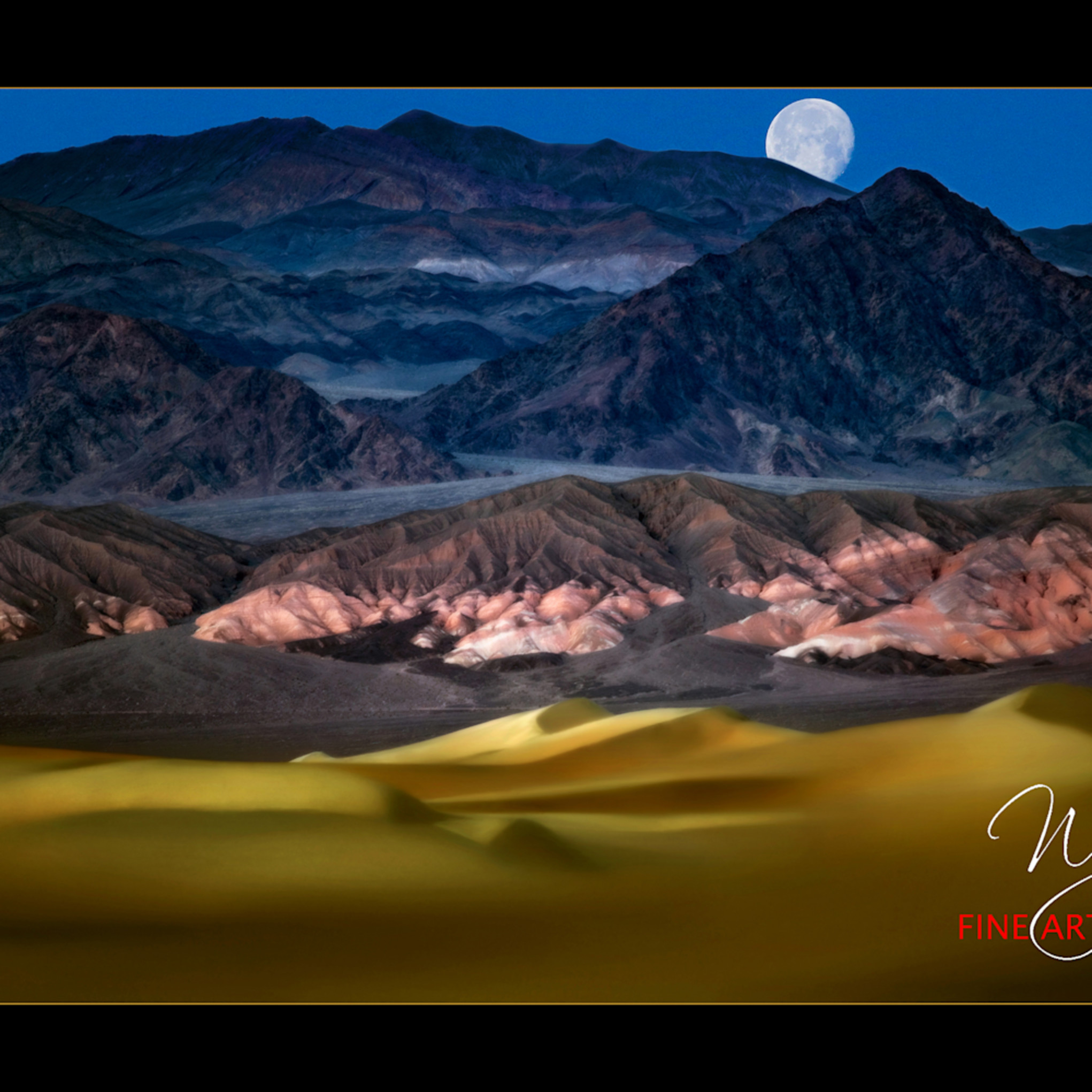 Moon over death valley jw c copy u000fe