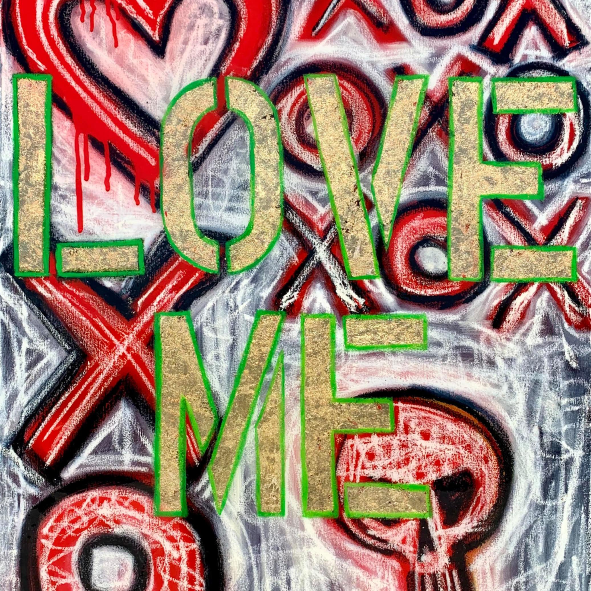 Love me x o painting paul zepeda diz21s